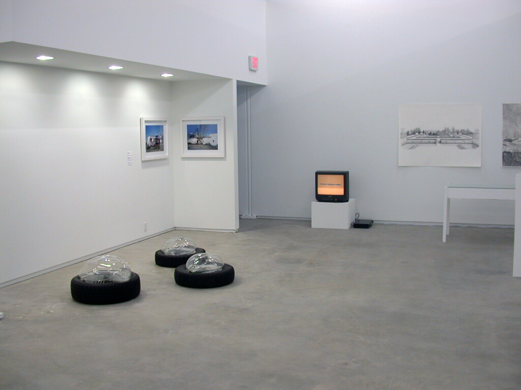 ​Alex Morrison, Isabelle Pauwels, Jerry Pethick, installation view, 274 East 1st​​​, 2006​​​​​​​ by
