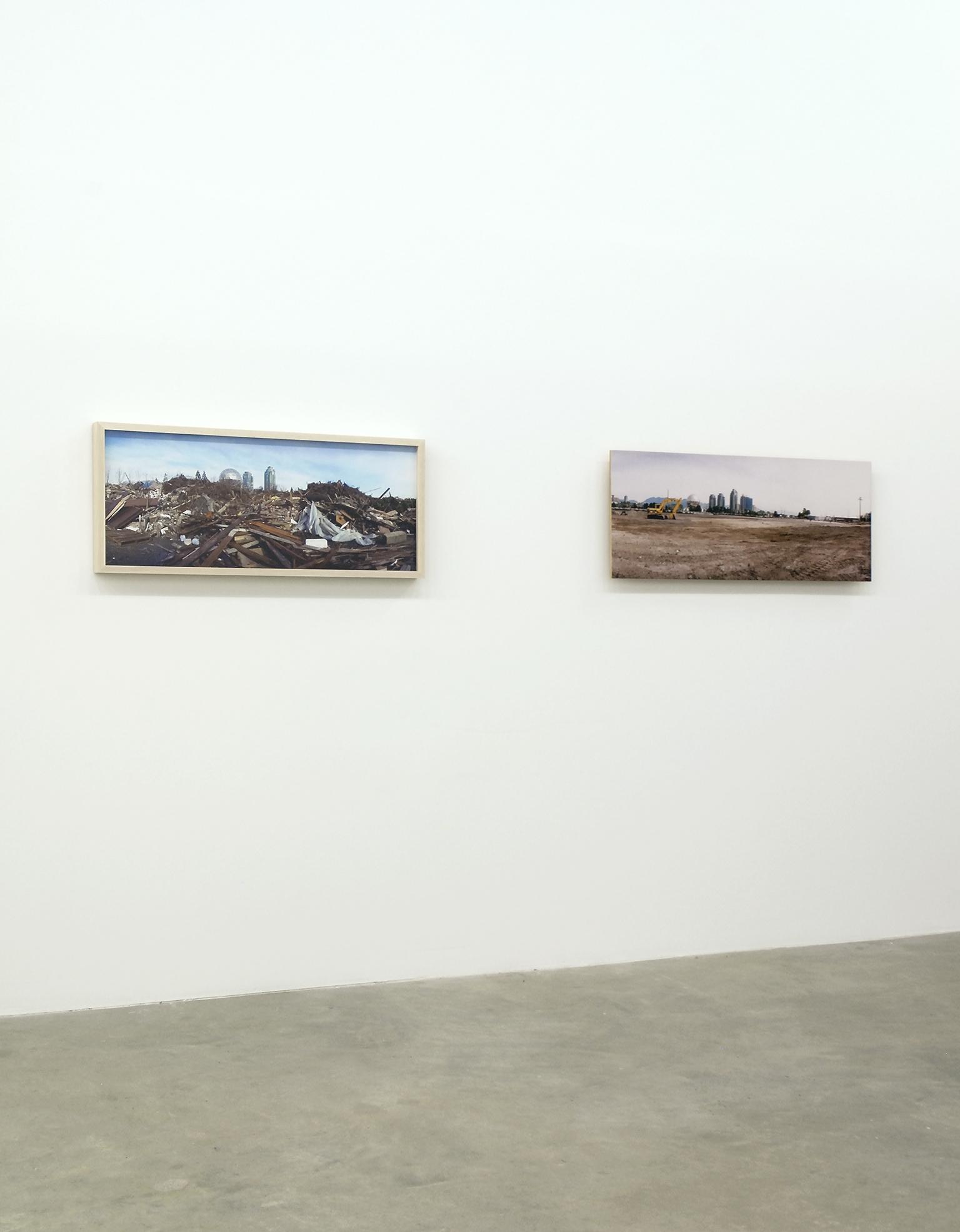 Christos Dikeakos, installation view, Catriona Jeffries, 2009 by