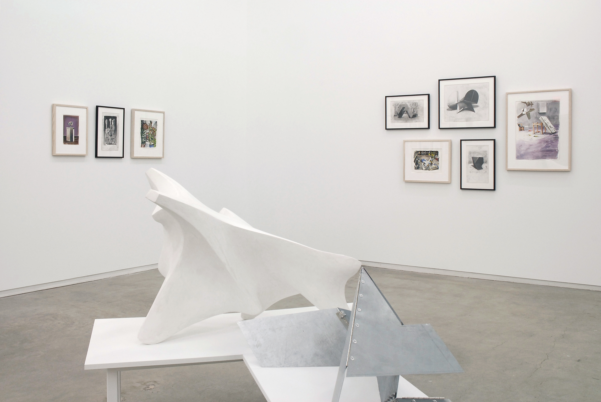 ​Roy Kiyooka, Damian Moppett, Jerry Pethick, Ian Wallace, installation view, Process as Work​, Catriona Jeffries, 2008 by