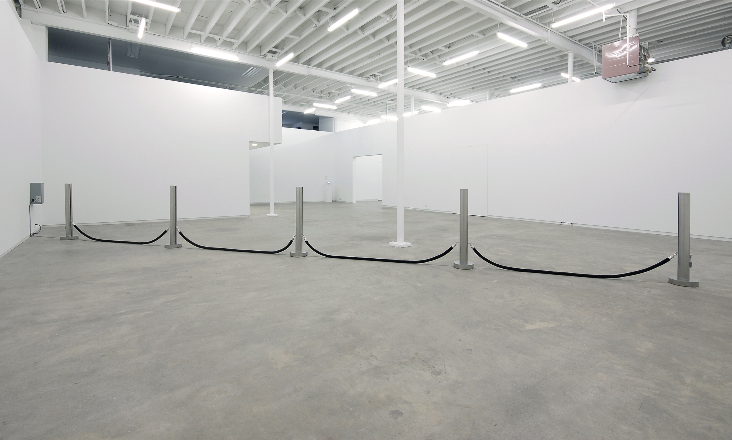 ​Germaine Koh, Fair-Weather Forces (Water Level), 2008, mixed media, dimensions variable by