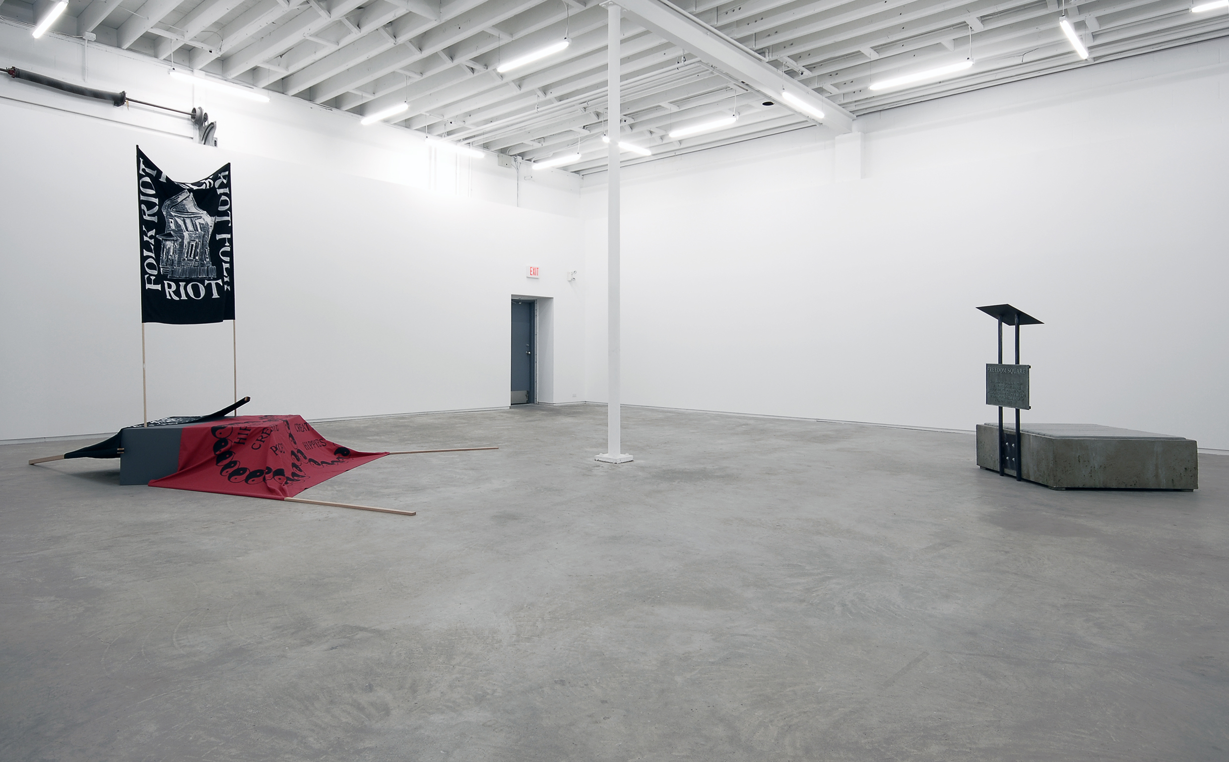 Alex Morrison, installation view, Catriona Jeffries, 2007 by
