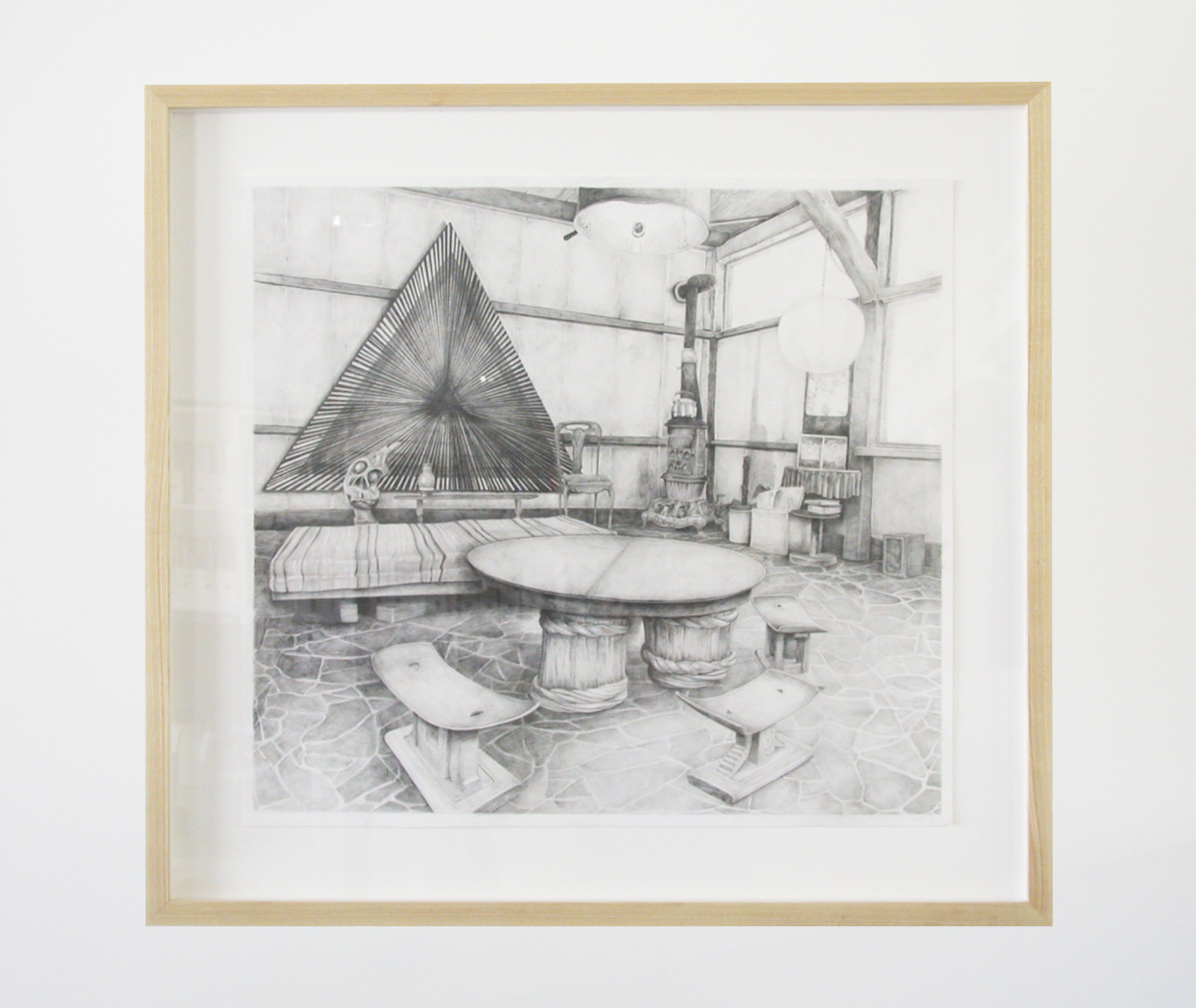 ​Alex Morrison, That dark age is thankfully over...​, 2007, graphite on paper, ​28 x 30 in. (71 x 76 cm) by