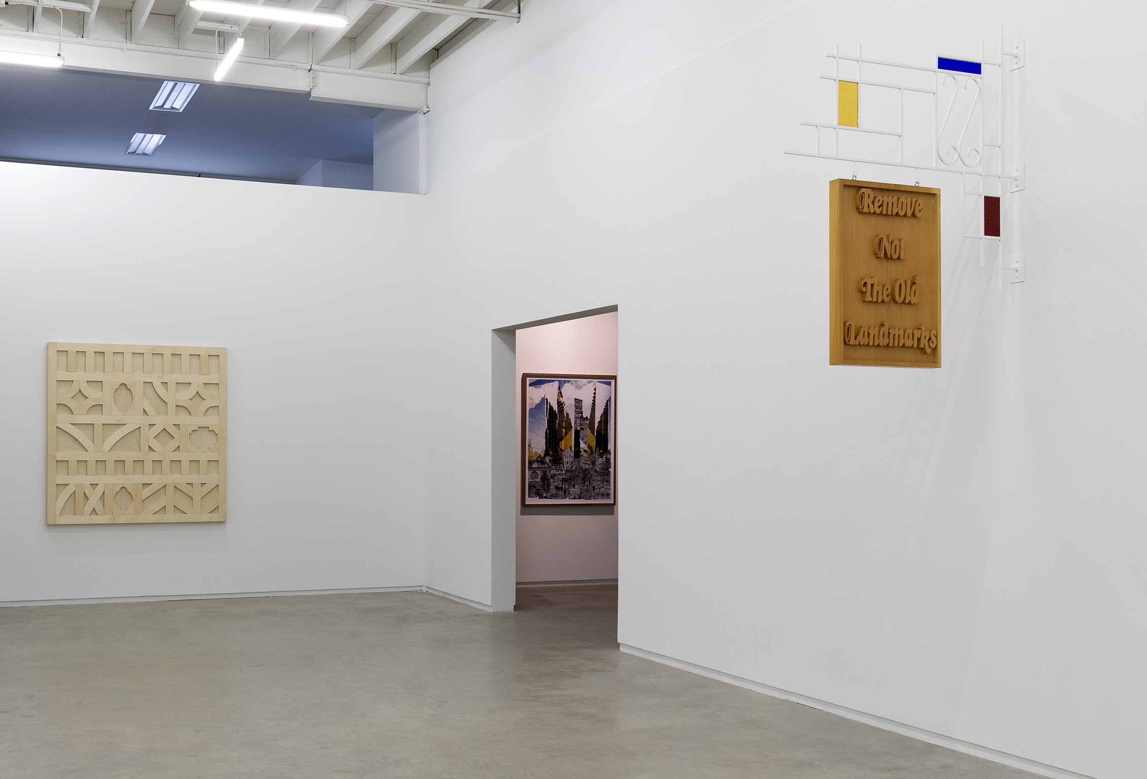 ​Alex Morrison, installation view, Catriona Jeffries, 2011 by