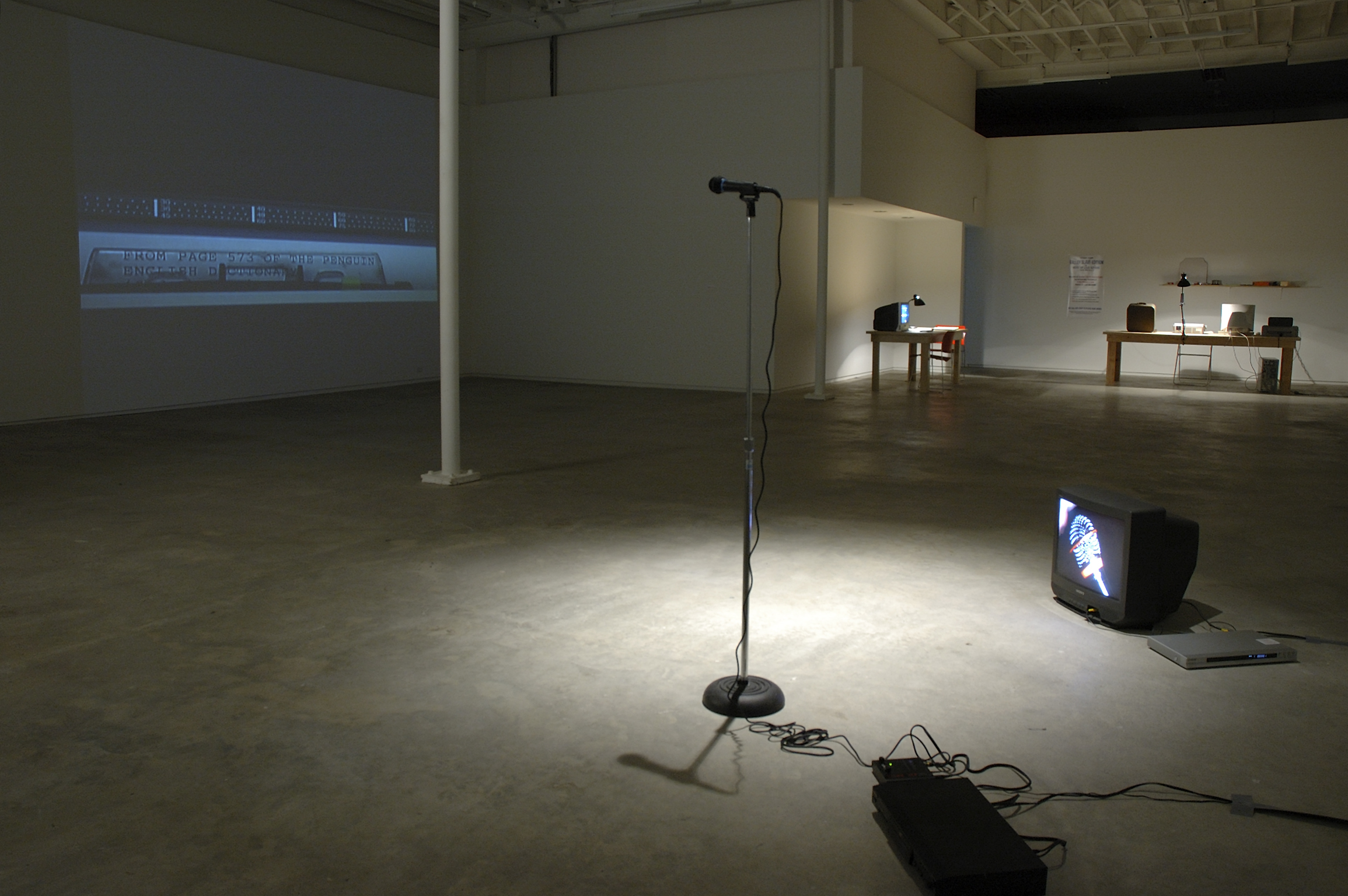 ​Isabelle Pauwels, installation view, Catriona Jeffries, 2006 by