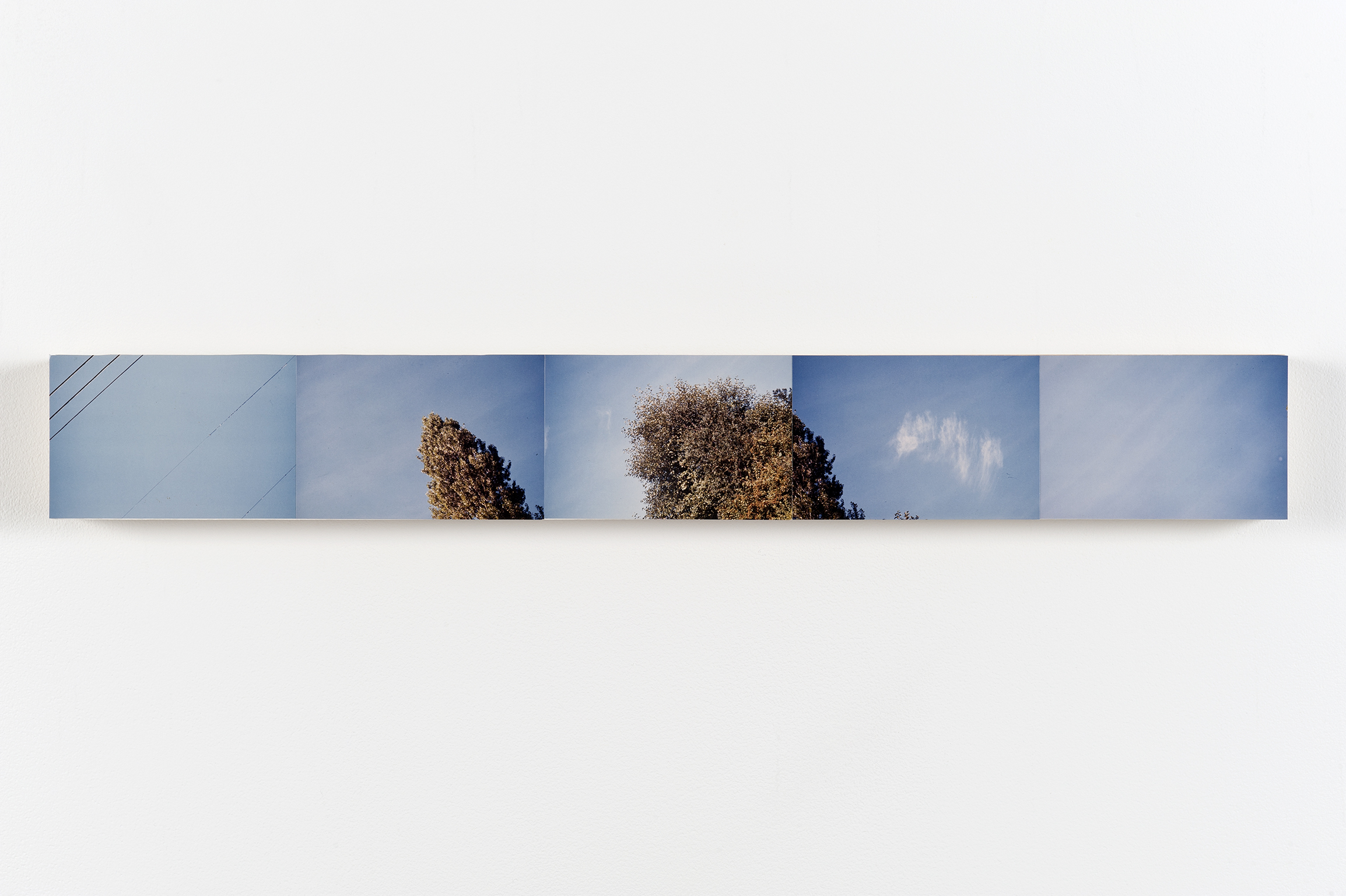 Robert Kleyn, Sky Pan, 1974, colour photographs, 4 x 30 in. (10 x 75 cm)   by