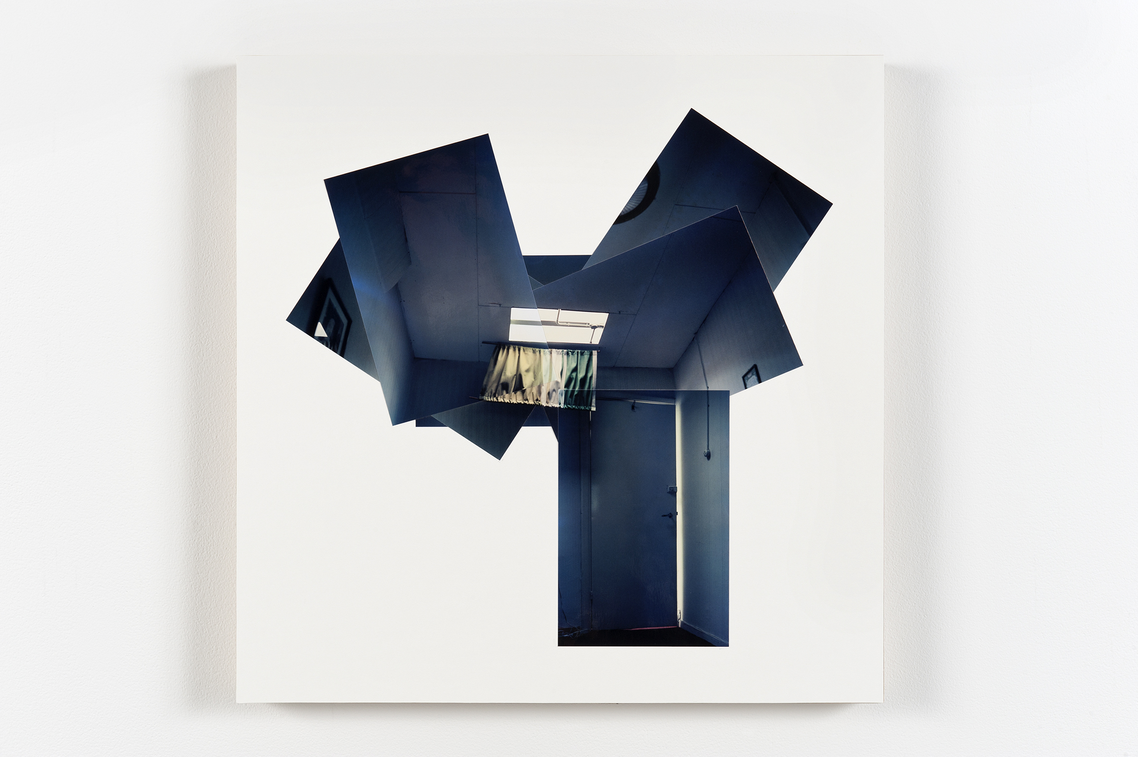 ​Robert Kleyn, Ceiling Pan, 1978, colour photographs on illustration board, 19 x 19 in. (48 x 48 cm) by