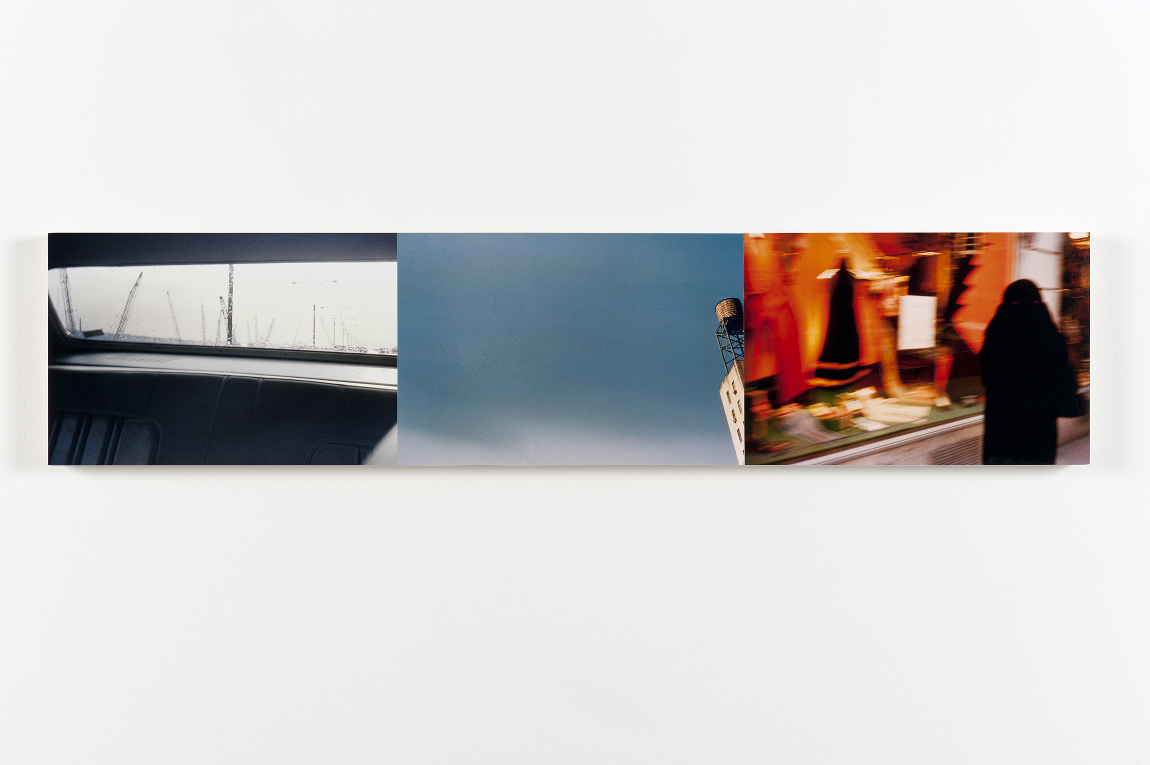 ​Robert Kleyn, New York Trilogy, 1973–2011, colour photographs, 11 x 49 in. (28 x 125 cm) by