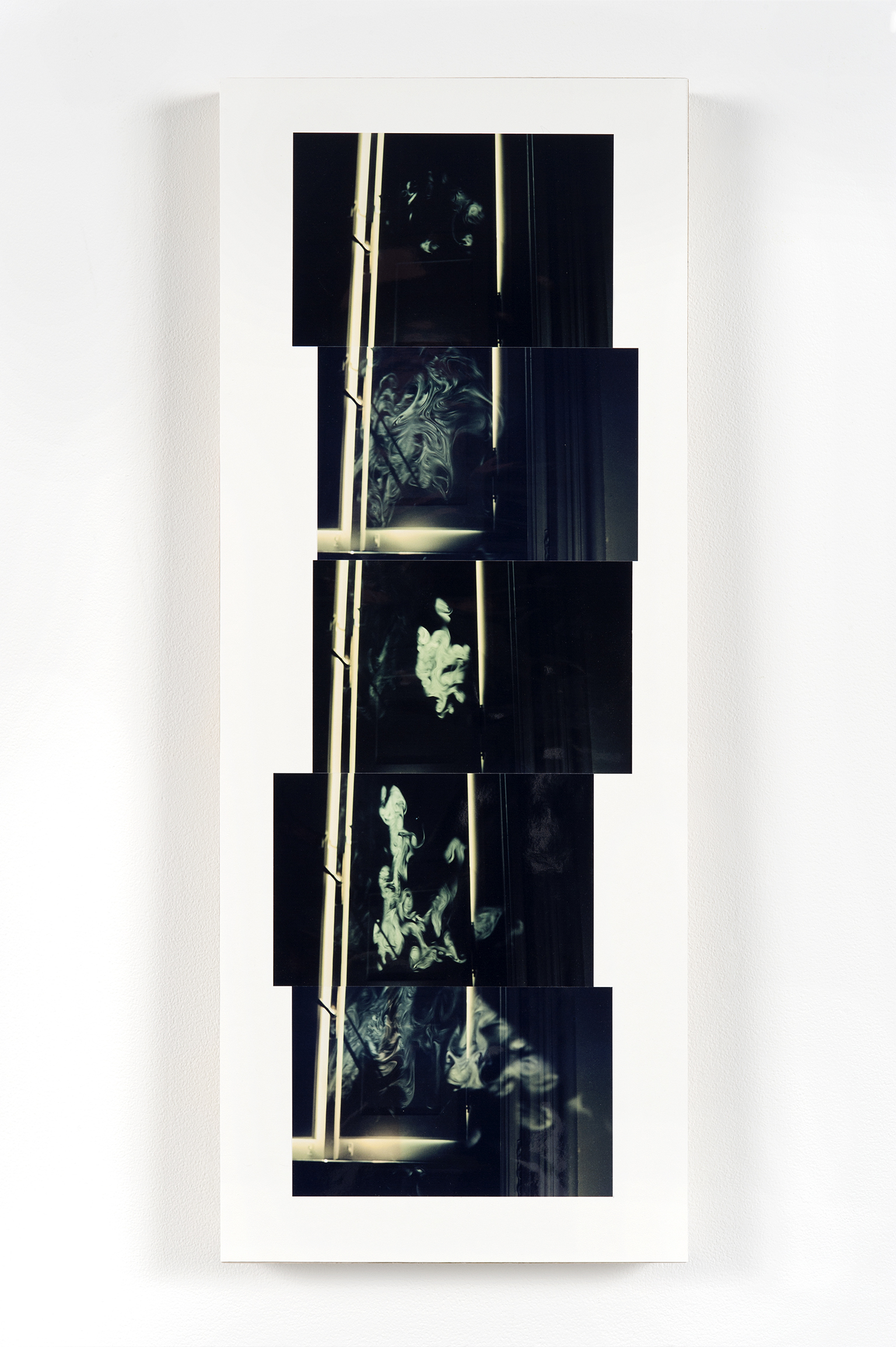 ​Robert Kleyn, Smoke, 1976–2011, colour photographs, 28 x 11 in. (70 x 27 cm) by