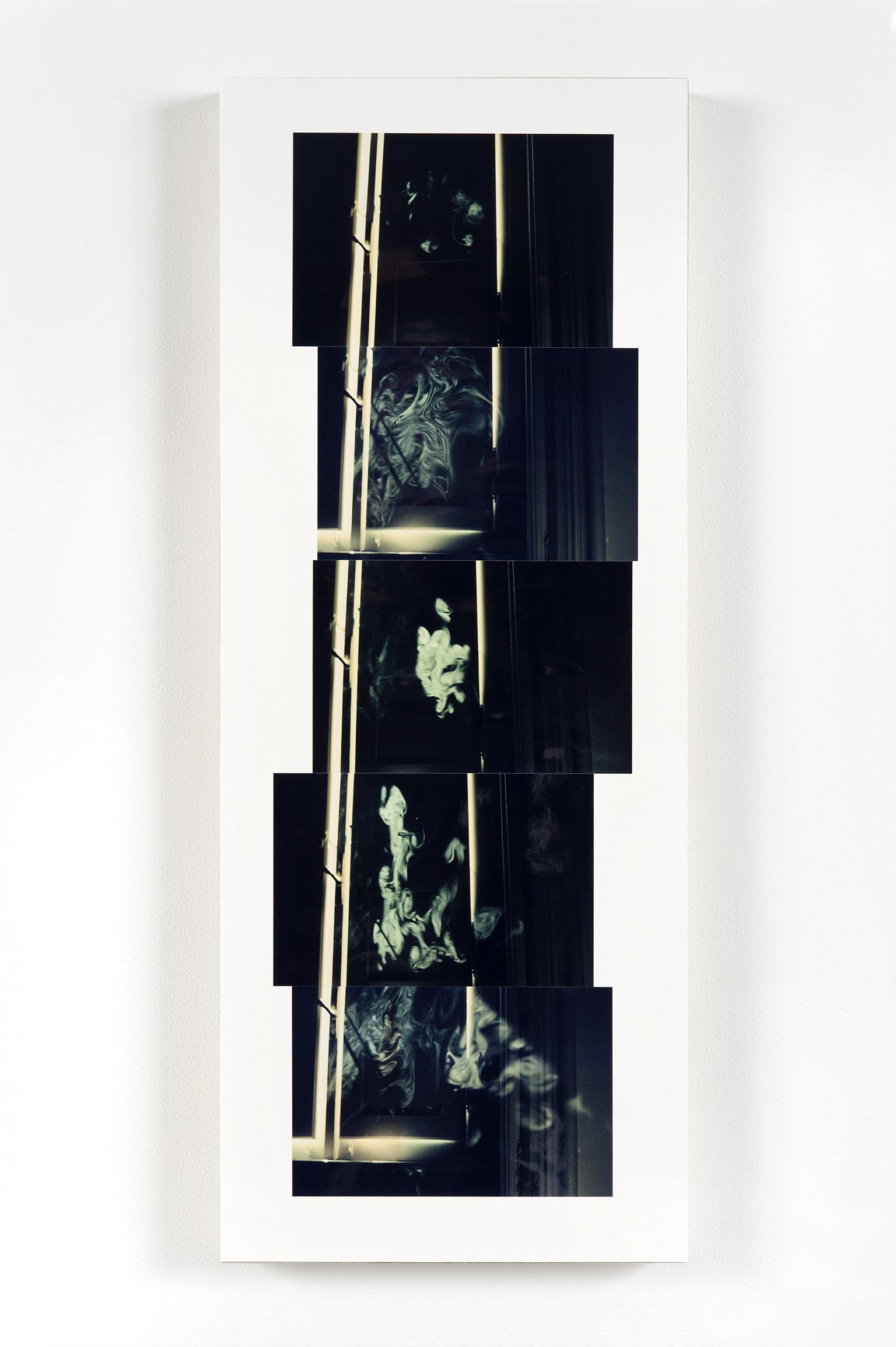 Robert Kleyn, Smoke, 1976–2011, colour photographs, 28 x 11 in. (70 x 27 cm) by