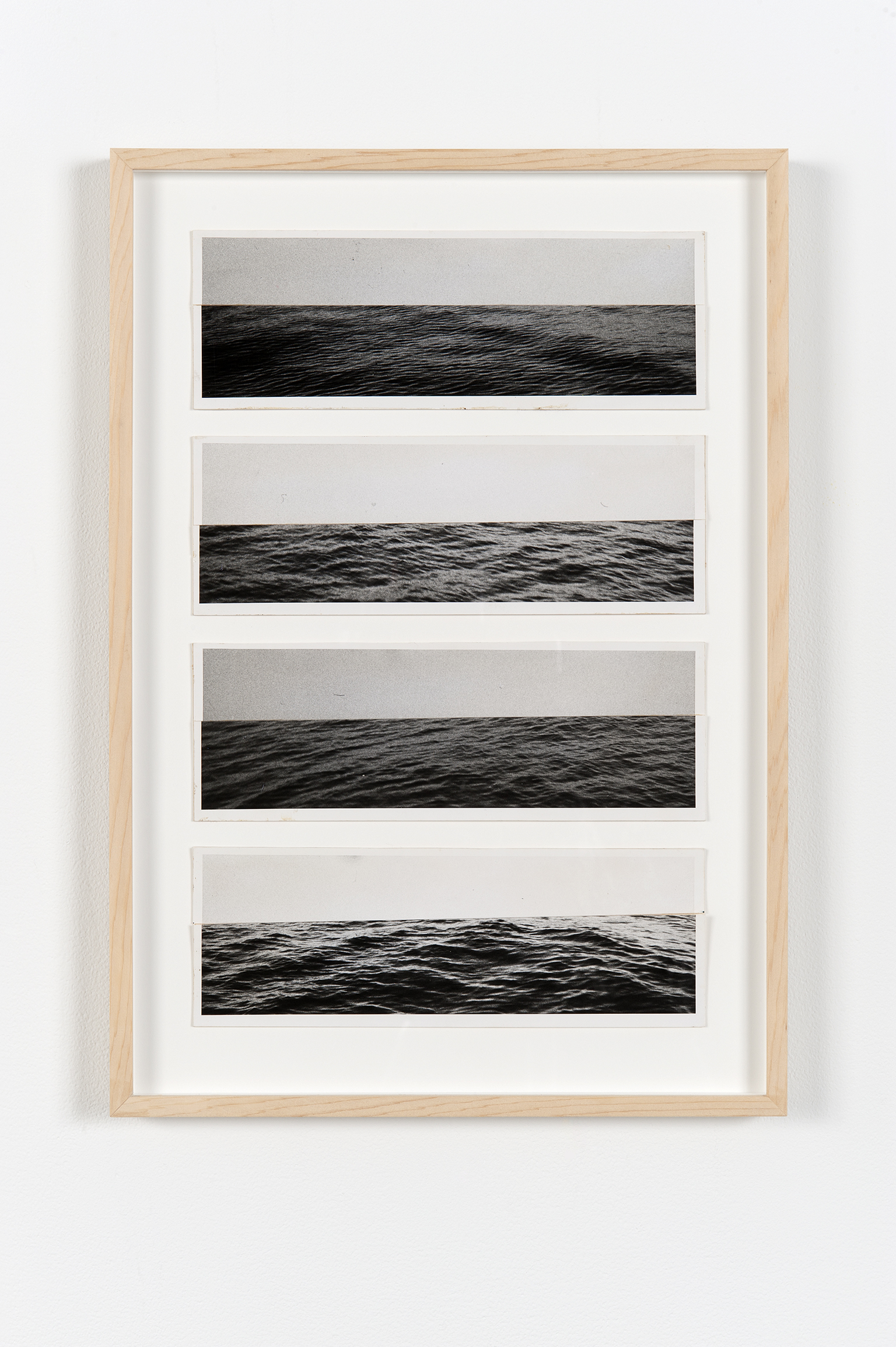 ​Robert Kleyn, Horizons, 1974–1975, hand-printed photographs on cardstock, 19 x 14 in. (48 x 34 cm) by