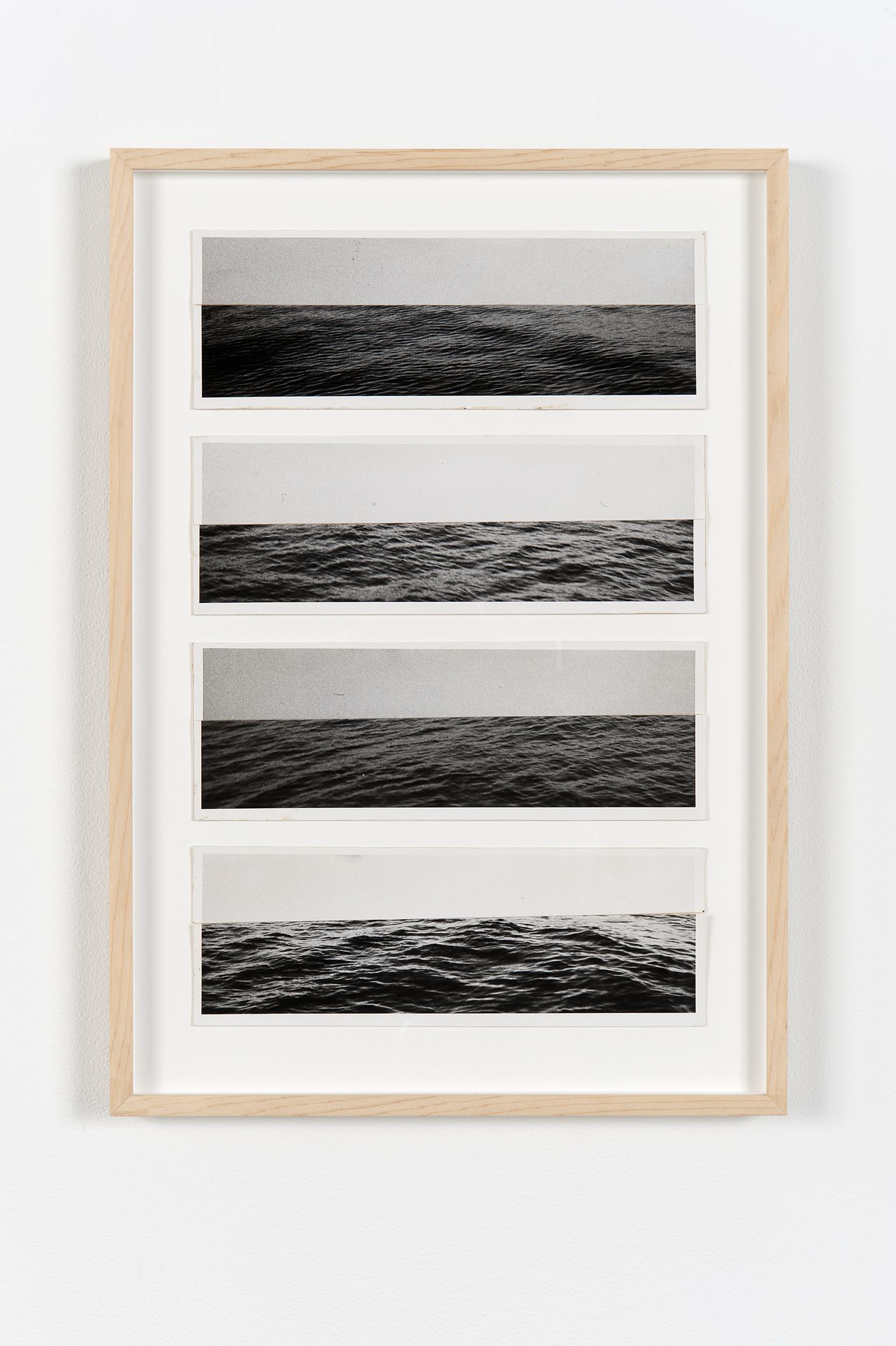 Robert Kleyn, Horizons, 1974–1975, hand-printed photographs on cardstock, 19 x 14 in. (48 x 34 cm) by