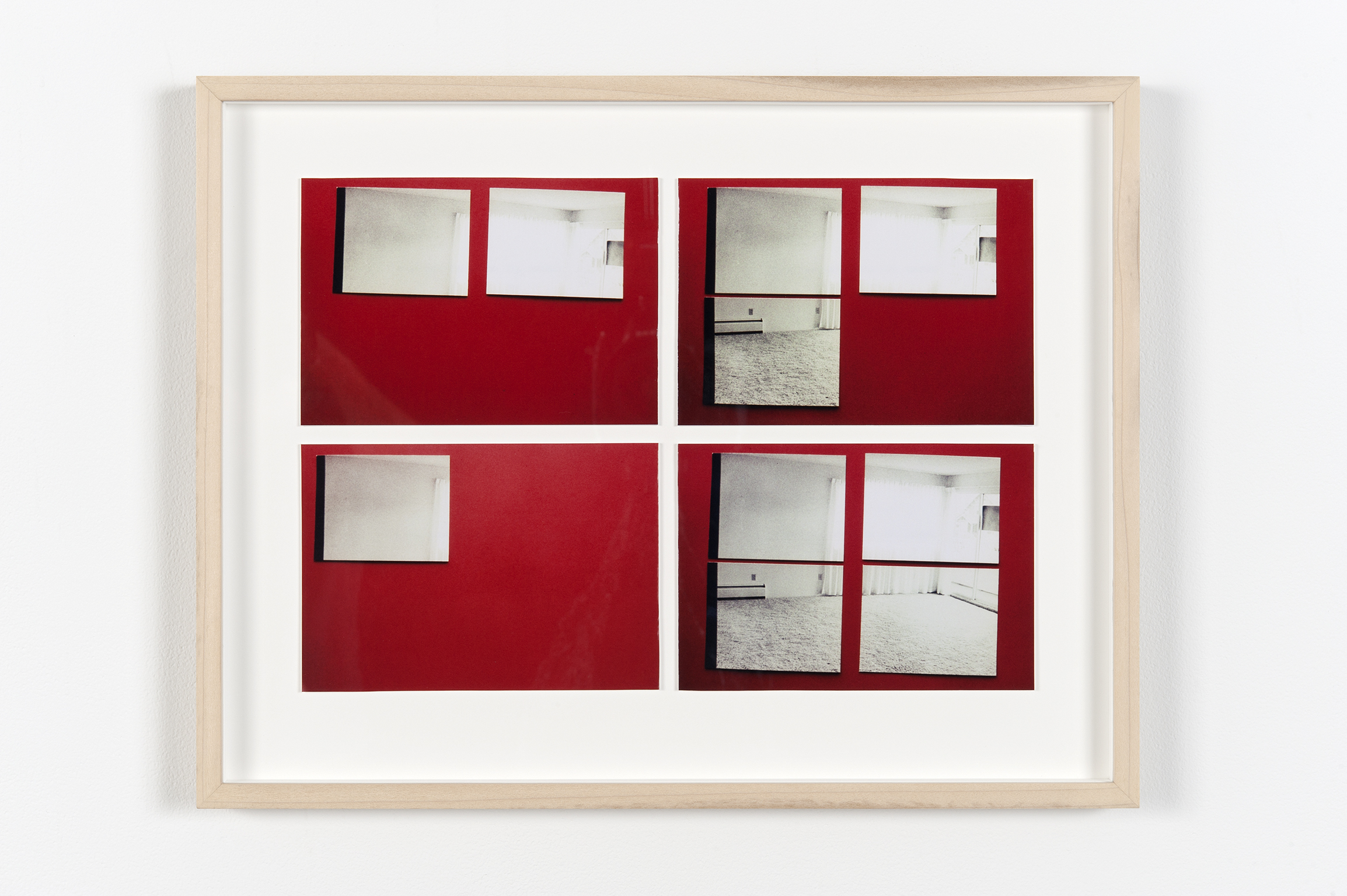 Robert Kleyn, Untitled (Apartment Study), 1976, colour photographs, 15 x 19 in. (37 x 47 cm) by