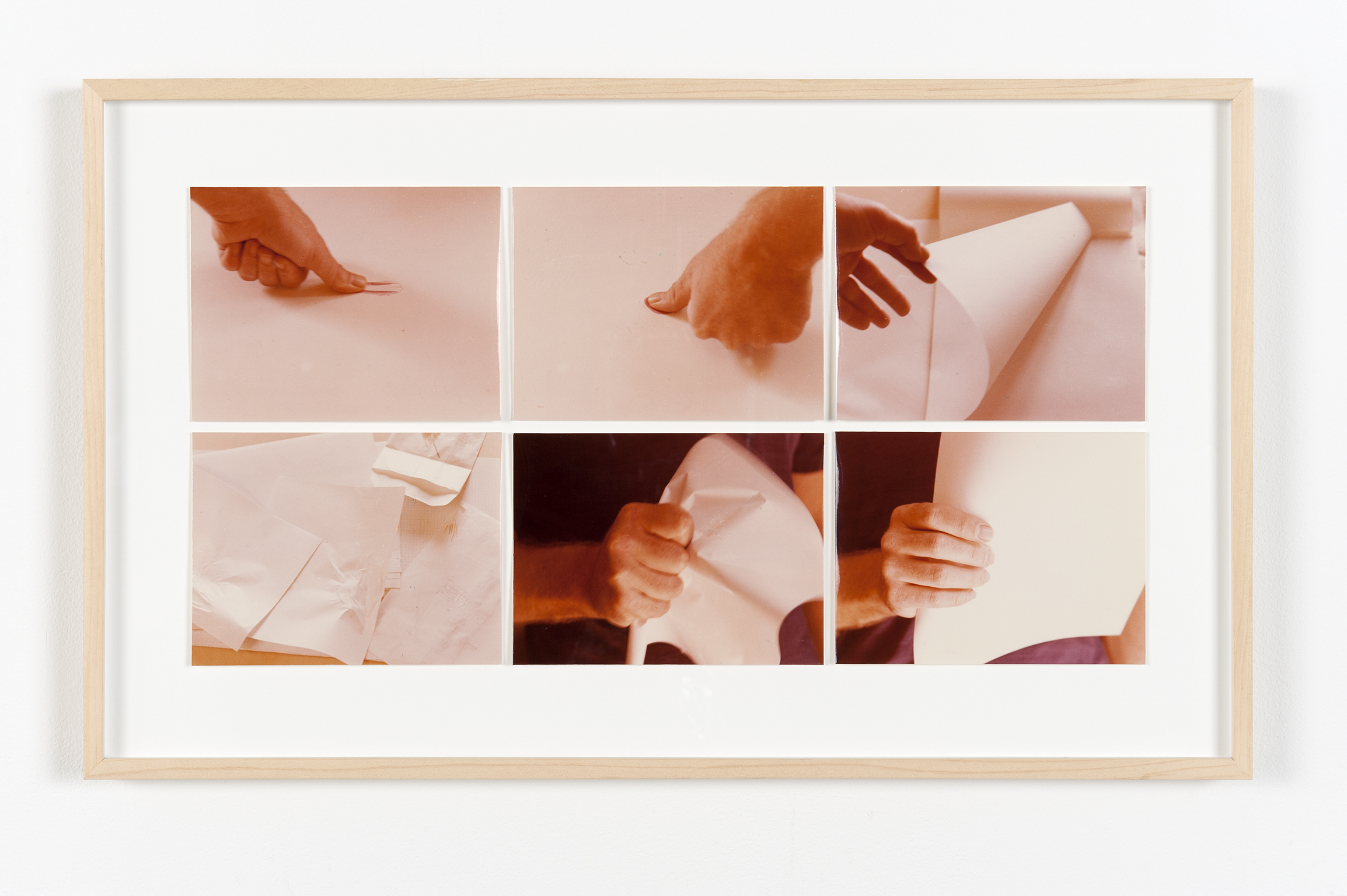 ​Robert Kleyn, Untitled, 1976–1977, colour photographs, 14 x 23 in. (36 x 58 cm) by
