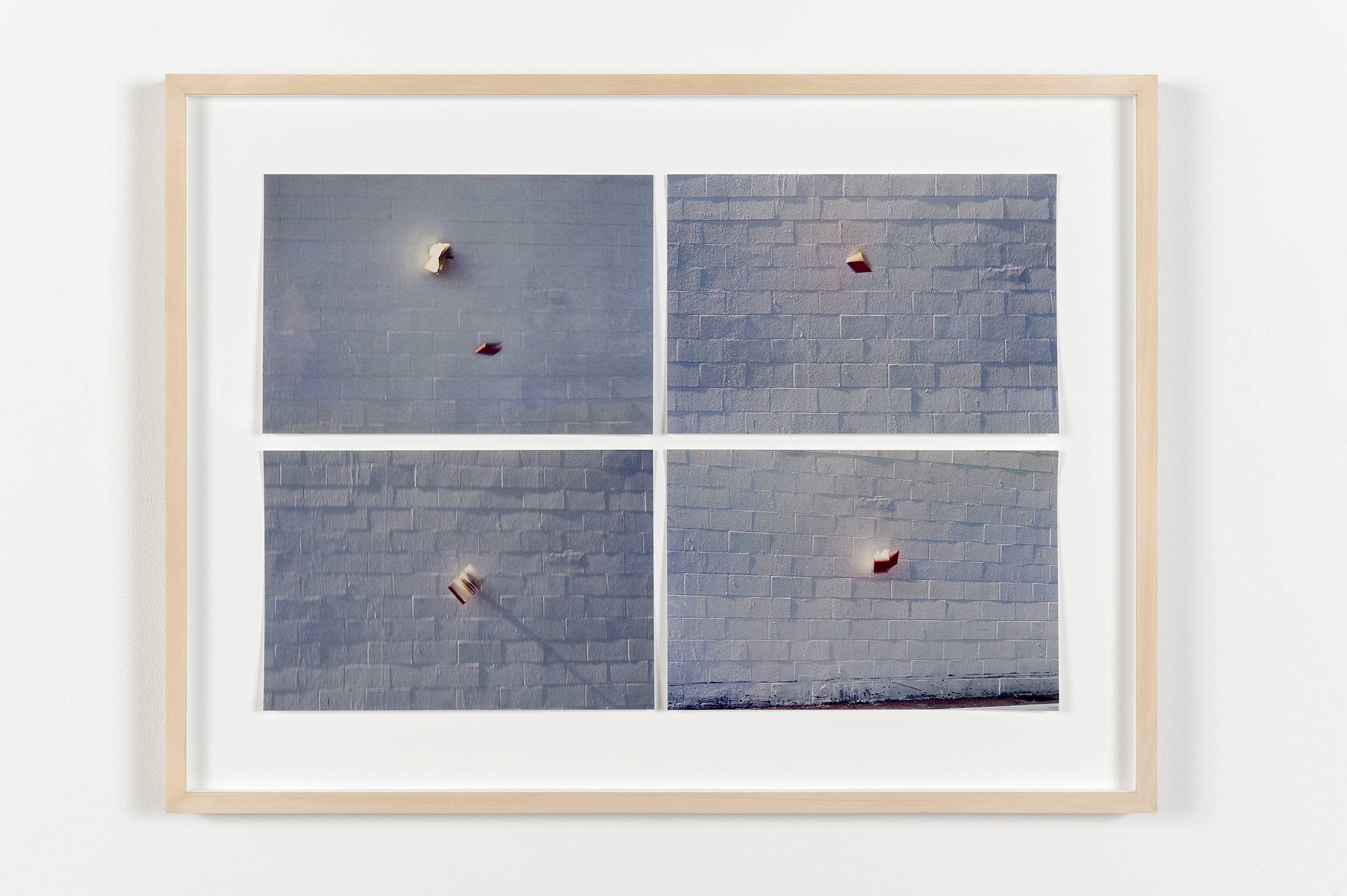 Robert Kleyn, Words are All Over, 1974–2011, colour photographs, 23 x 30 in. (57 x 77 cm) by