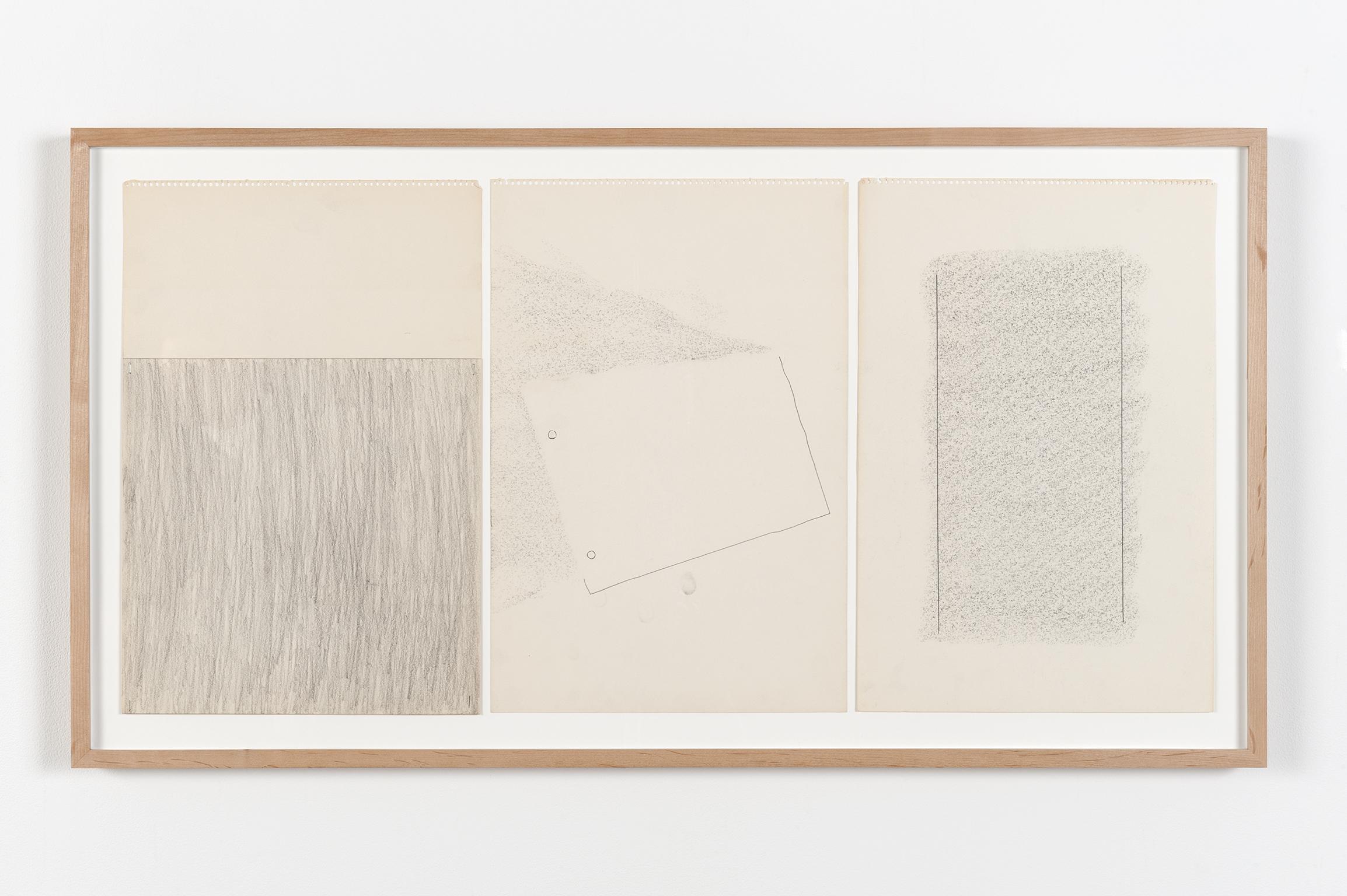 Robert Kleyn, Untitled, 1969–1970, graphite on paper, 22 x 40 in. (55 x 102 cm)   by