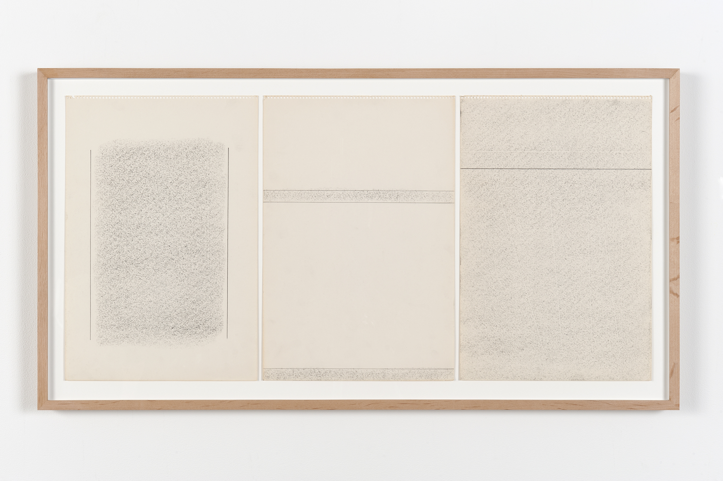 Robert Kleyn, Untitled, 1969–1970, graphite on paper, 22 x 40 in. (55 x 102 cm)  ​ by