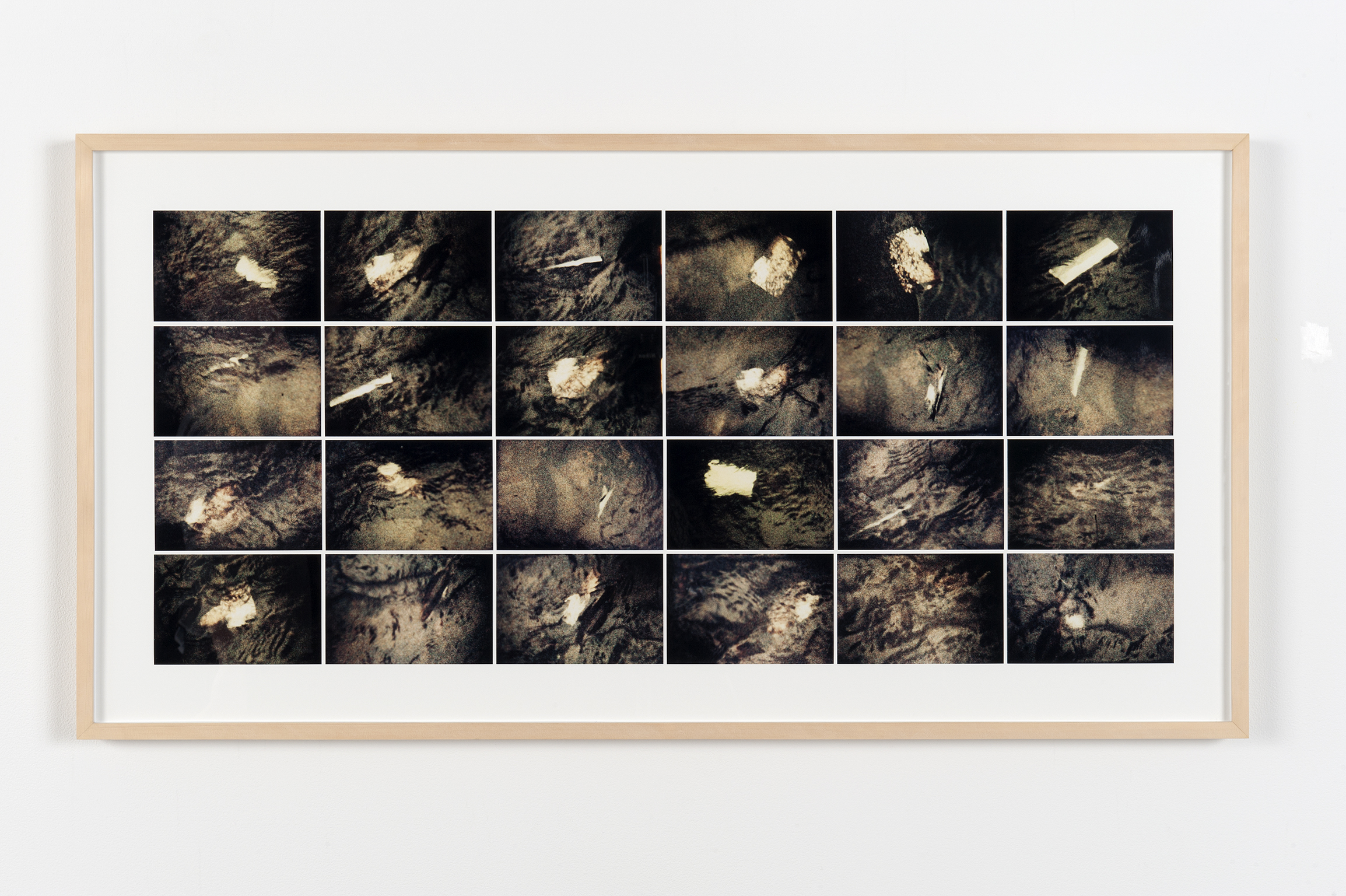 Robert Kleyn, Untitled (Book in Water), 1974–1975, colour photographs, 11 x 49 in. (28 x 125 cm)   by
