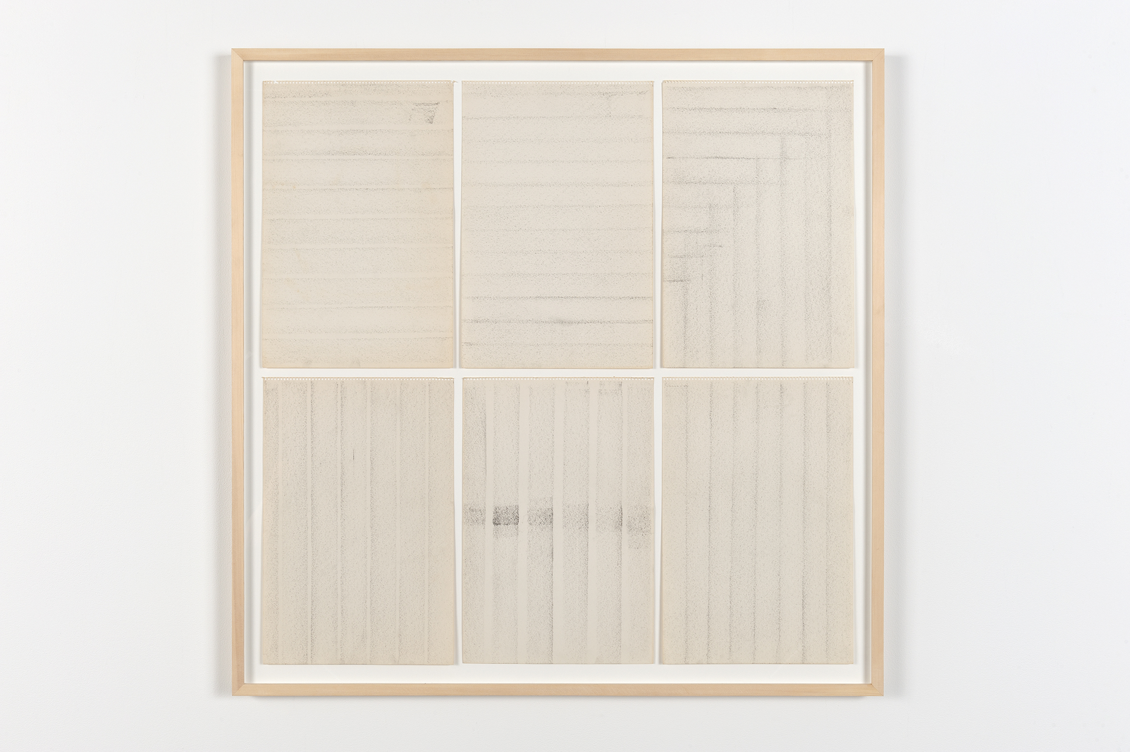 Robert Kleyn, Untitled, 1963–1970, graphite on paper, 40 x 41 in. (102 x 104 cm)  ​ by
