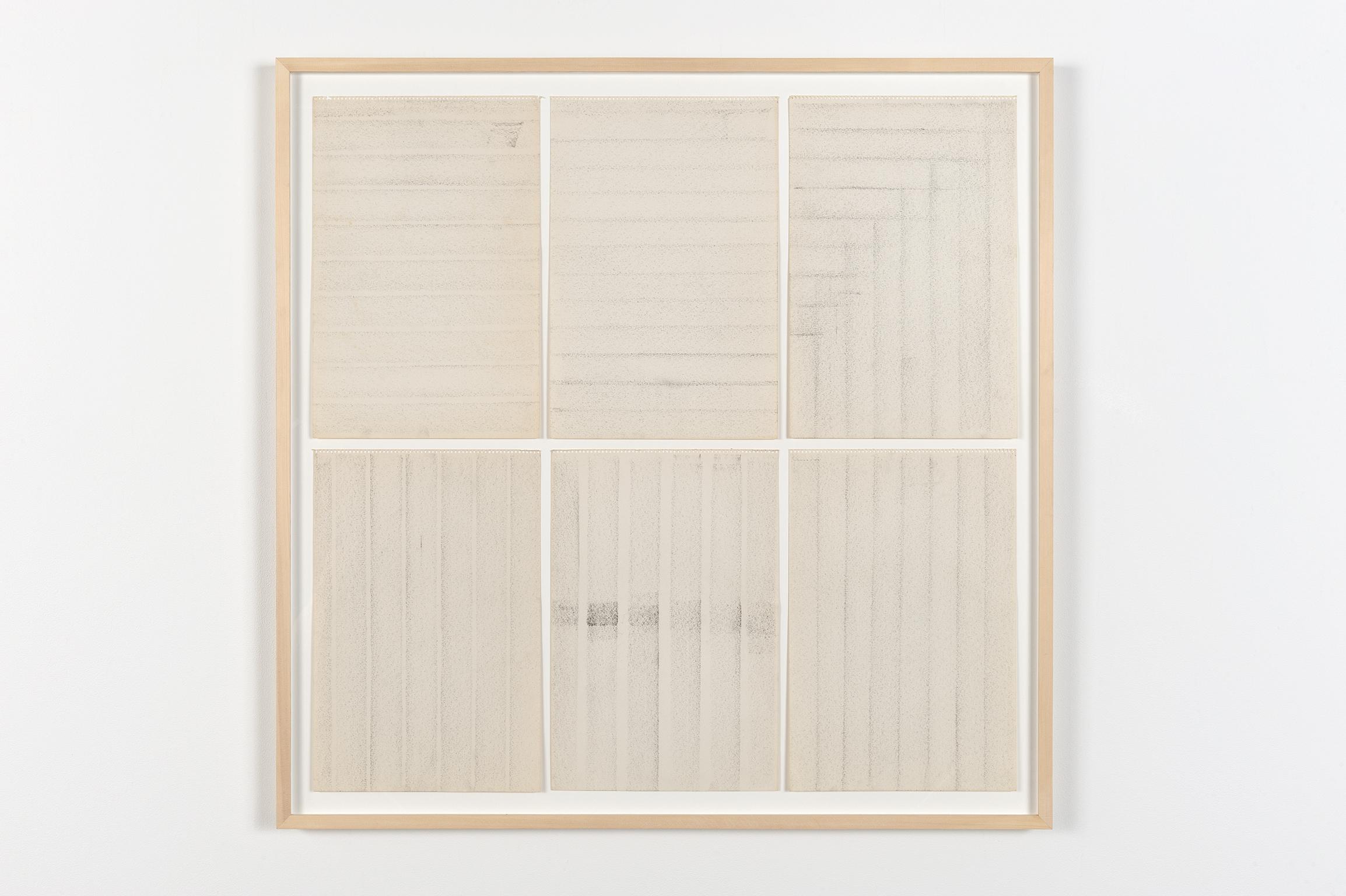 Robert Kleyn, Untitled, 1963–1970, graphite on paper, 40 x 41 in. (102 x 104 cm)   by