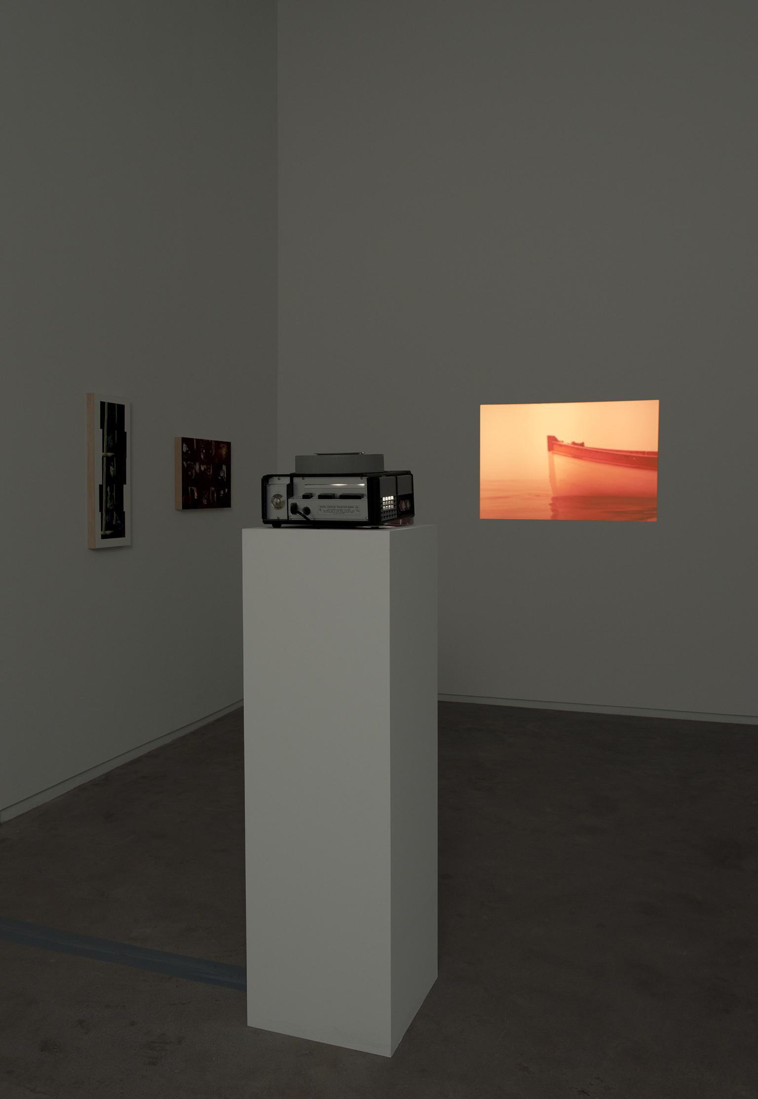 Robert Kleyn, Dreaming Drowning, 1977, 35mm slide projector for 80 slide carousel   by