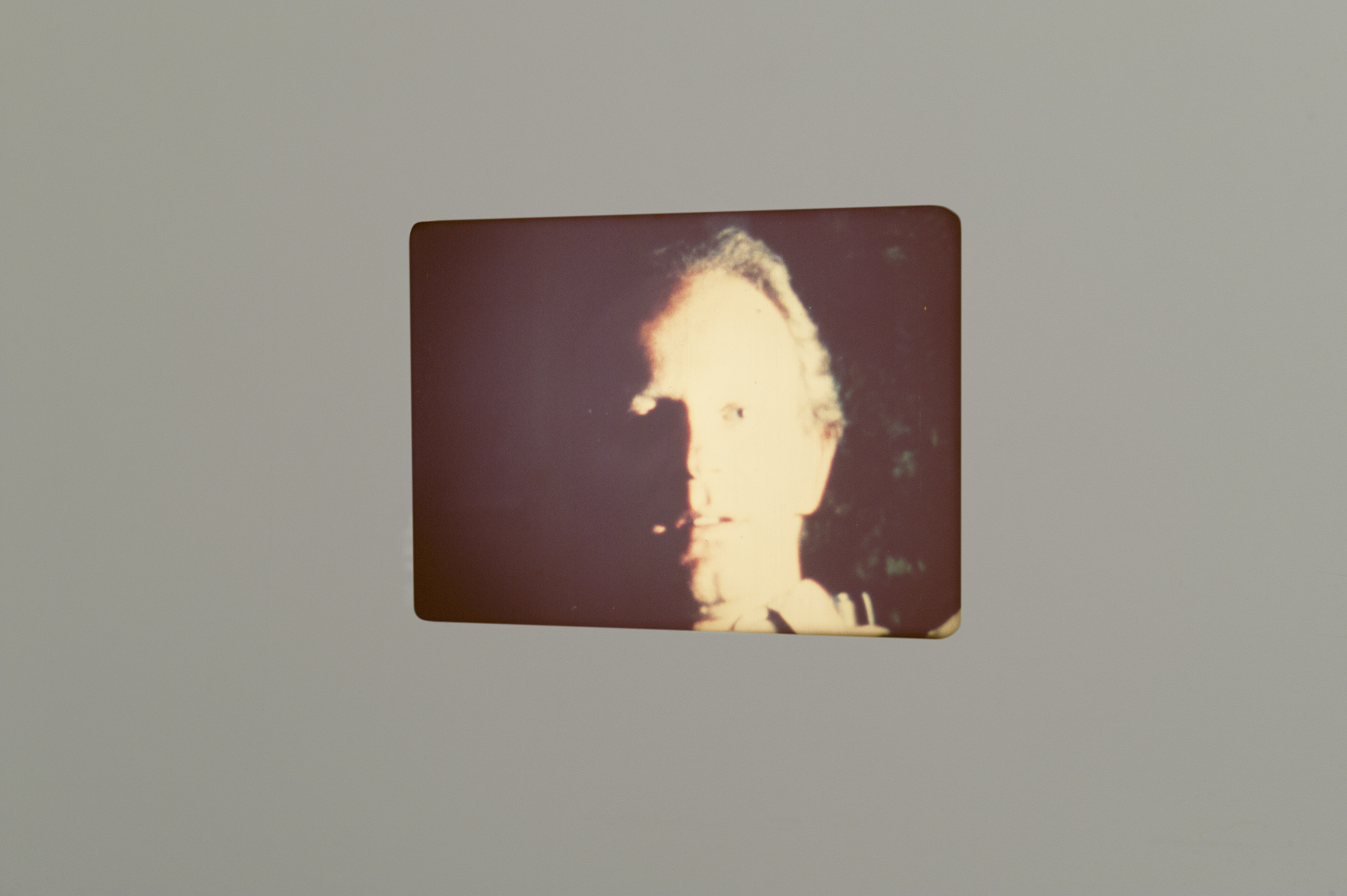 ​Robert Kleyn, Flash Portrait, 1976, super 8 film transferred to 16mm, dimensions variable by