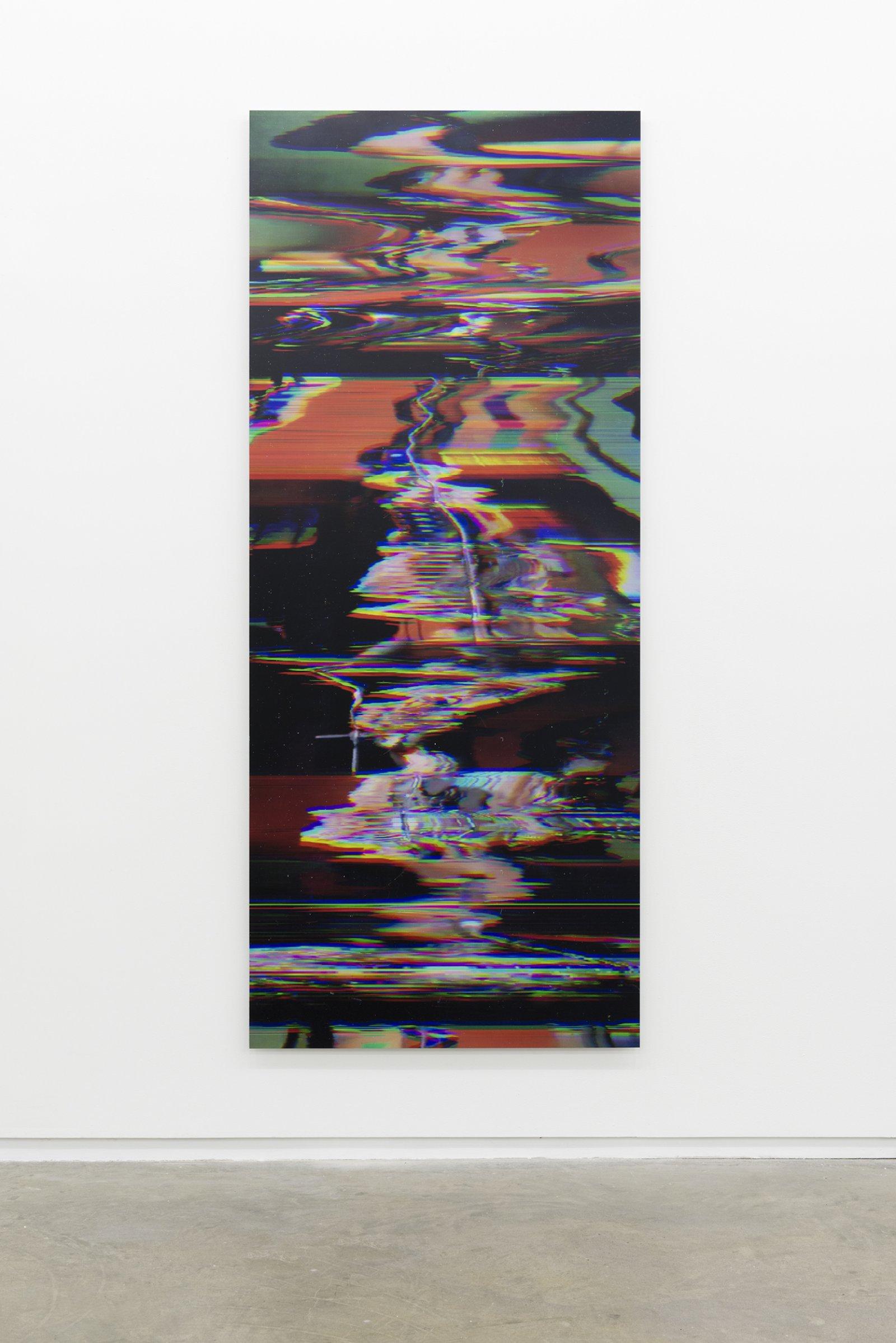 Raymond Boisjoly, Buffy Sainte-Marie (Illumination: 1969/2013) Keeper of the Fire 02, 2013, screen resolution lightjet print mounted on dibond, 96 x 40 in. (244 x 102 cm) by Raymond Boisjoly