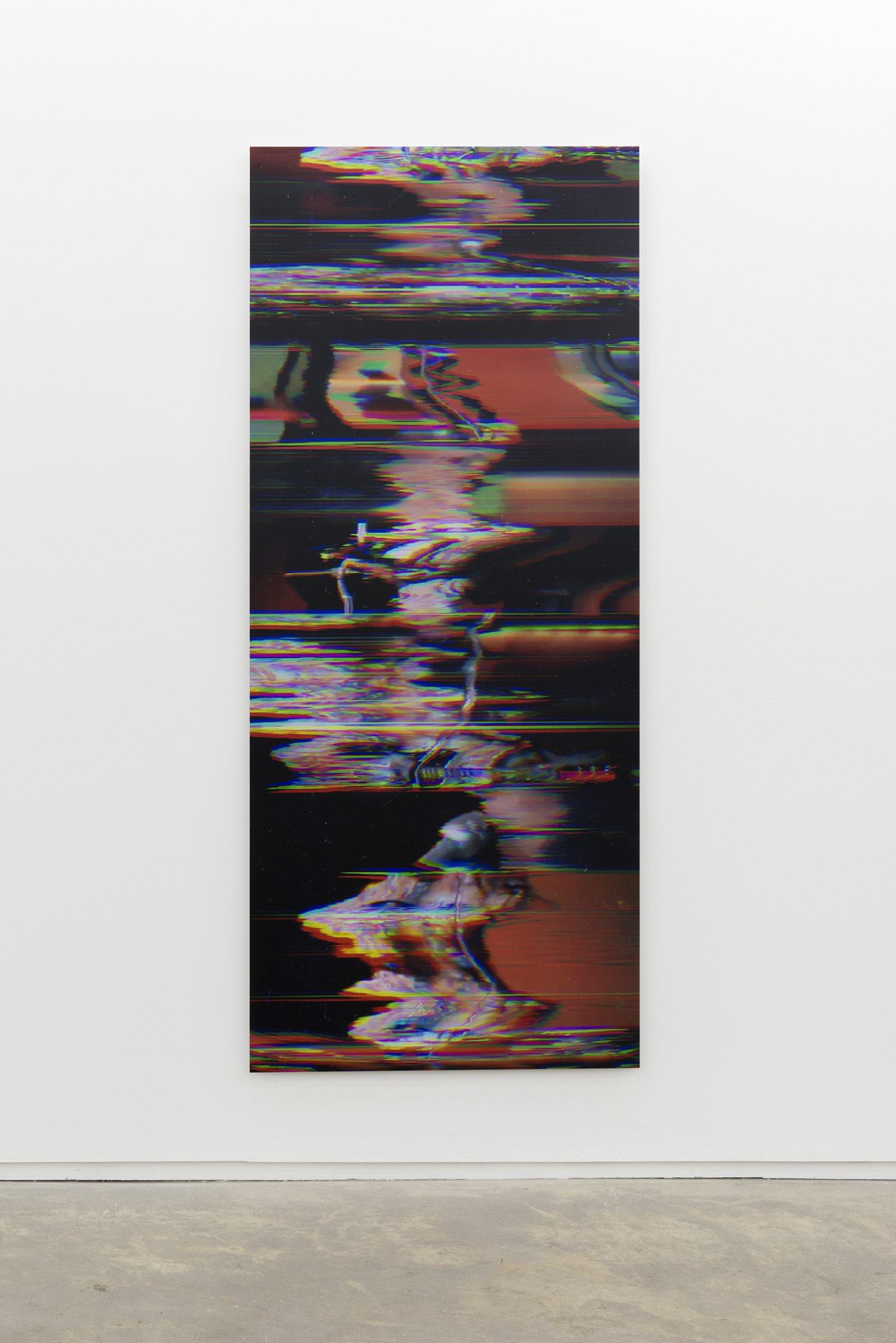 Raymond Boisjoly, Buffy Sainte-Marie (Illumination: 1969/2013) Keeper of the Fire 03, 2013, screen resolution lightjet print mounted on dibond, 96 x 40 in. (244 x 102 cm) by Raymond Boisjoly