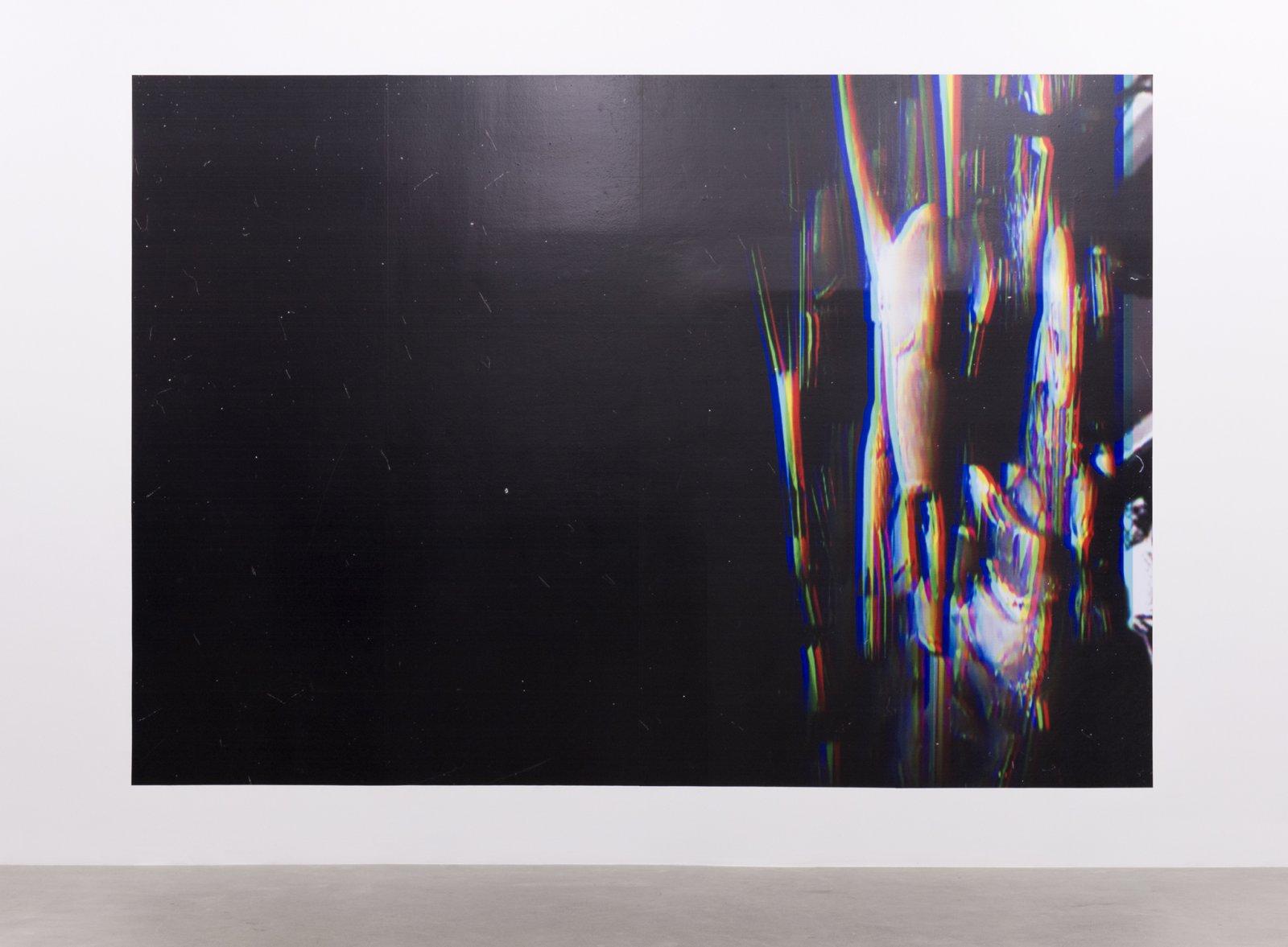 Raymond Boisjoly, Subsequent Categorizations (Institutional Framings), 2015, solvent-based inkjet print on vinyl, 114 x 165 in. (290 x 418 cm) by Raymond Boisjoly