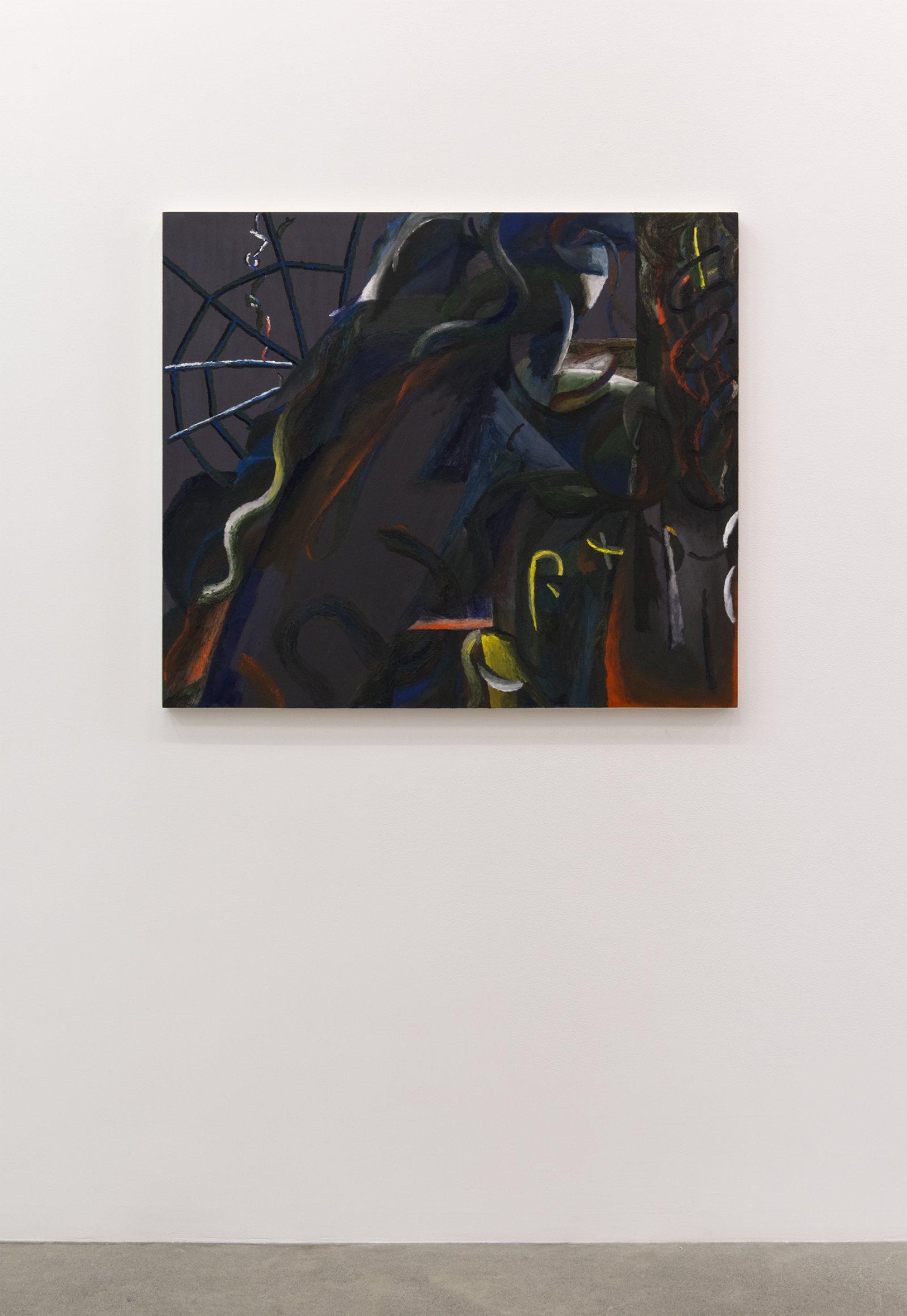 Rebecca Brewer, La Bafana, 2015–2016, oil on muslin on panel, 36 x 42 in. (92 x 107 cm) by Rebecca Brewer