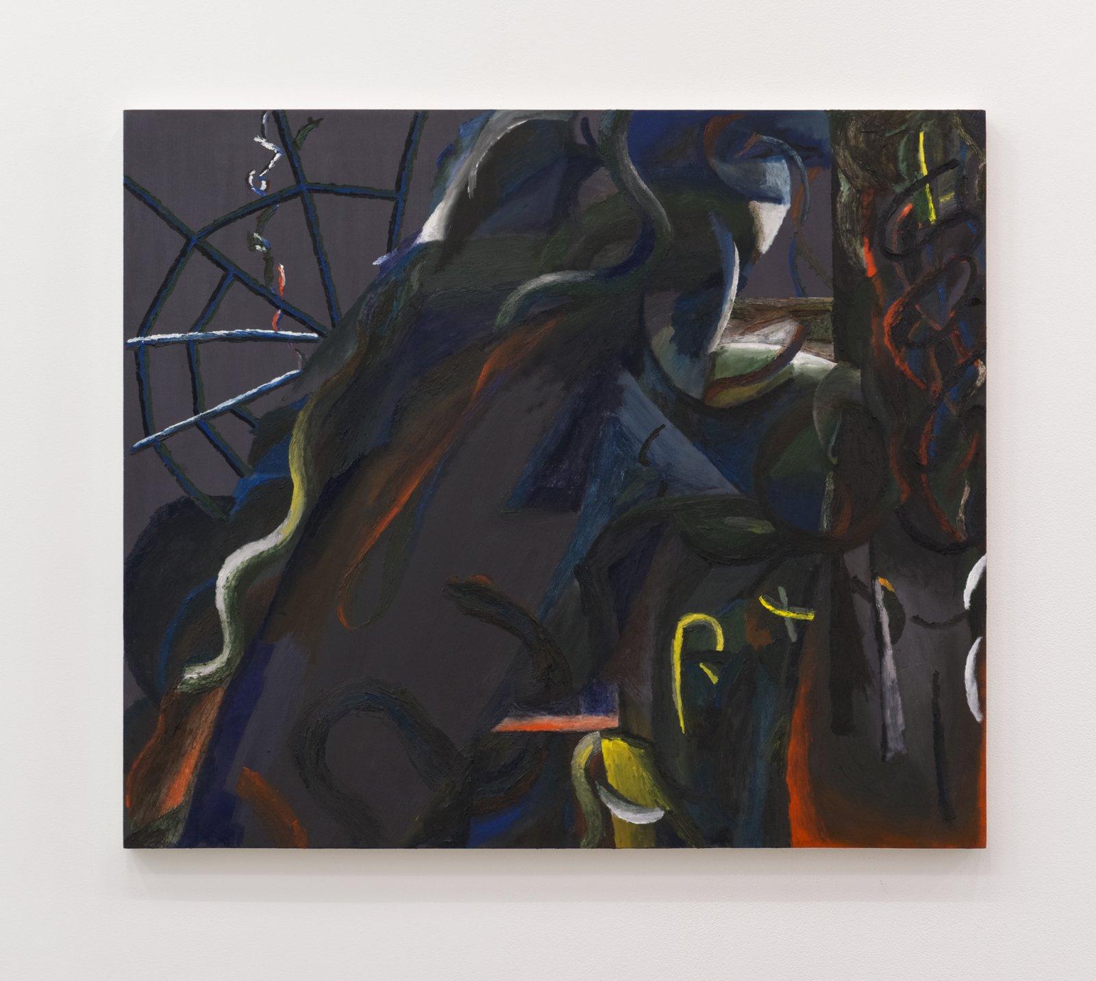 Rebecca Brewer,La Bafana, 2015–2016, oil on muslin on panel, 36 x 42 in. (92 x 107 cm)