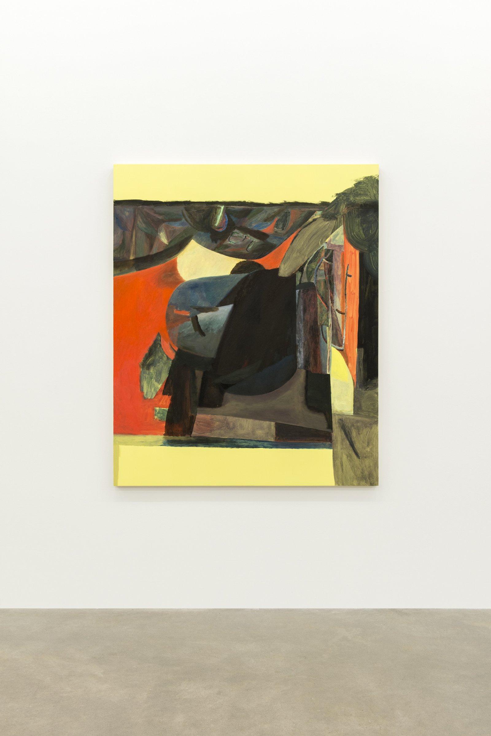 Rebecca Brewer, The Beatnik, 2013, oil on panel, 57 x 47 in. (145 x 47 cm) by Rebecca Brewer