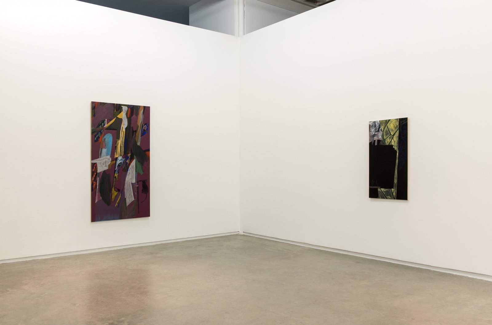 Rebecca Brewer, installation view, The Written Face, Catriona Jeffries, 2014 by Rebecca Brewer