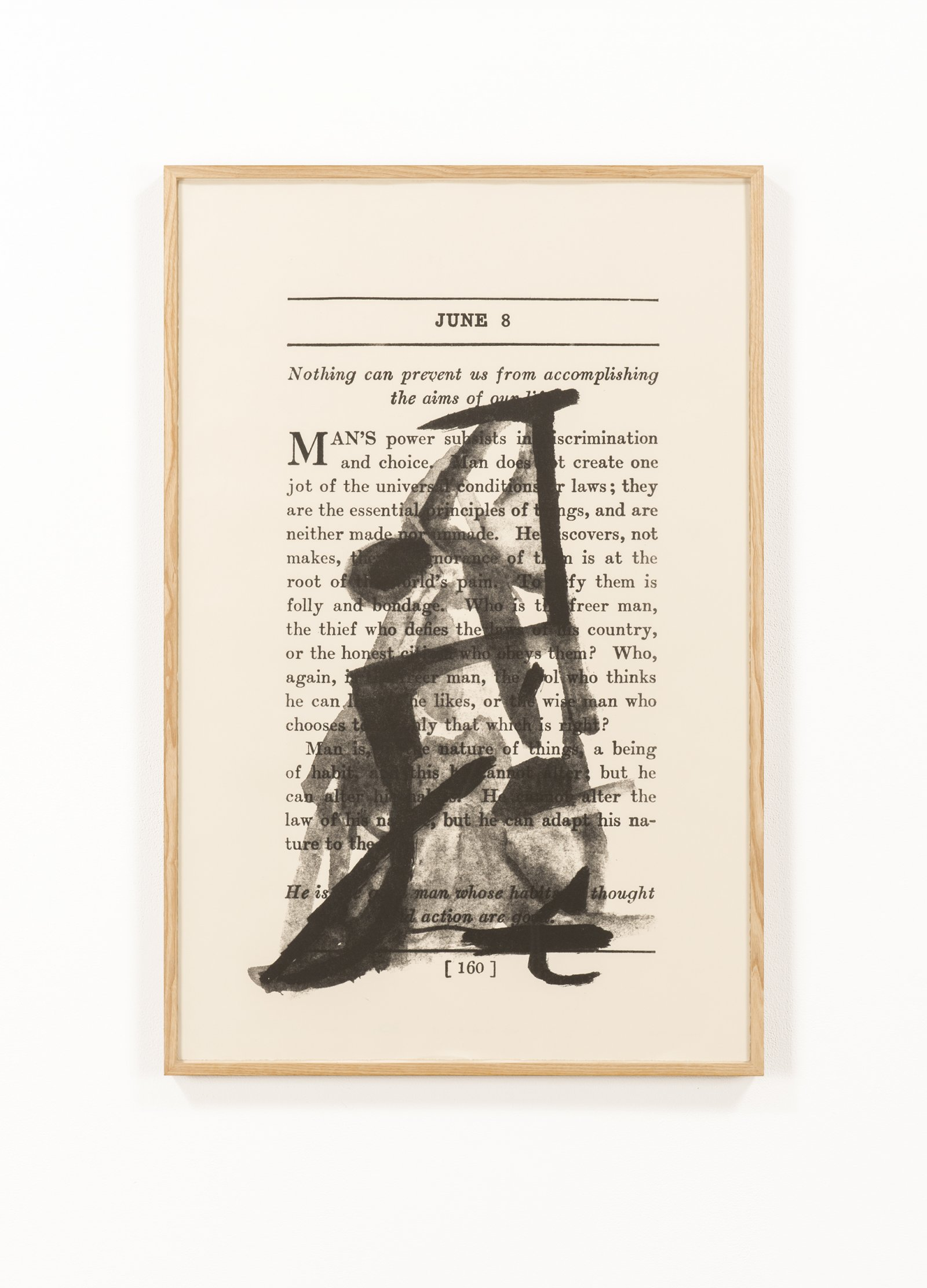 Rebecca Brewer,The Body Is the Image of the Mind II, 2013, lithograph on paper, 40 x 26 in. (102 x 66 cm)