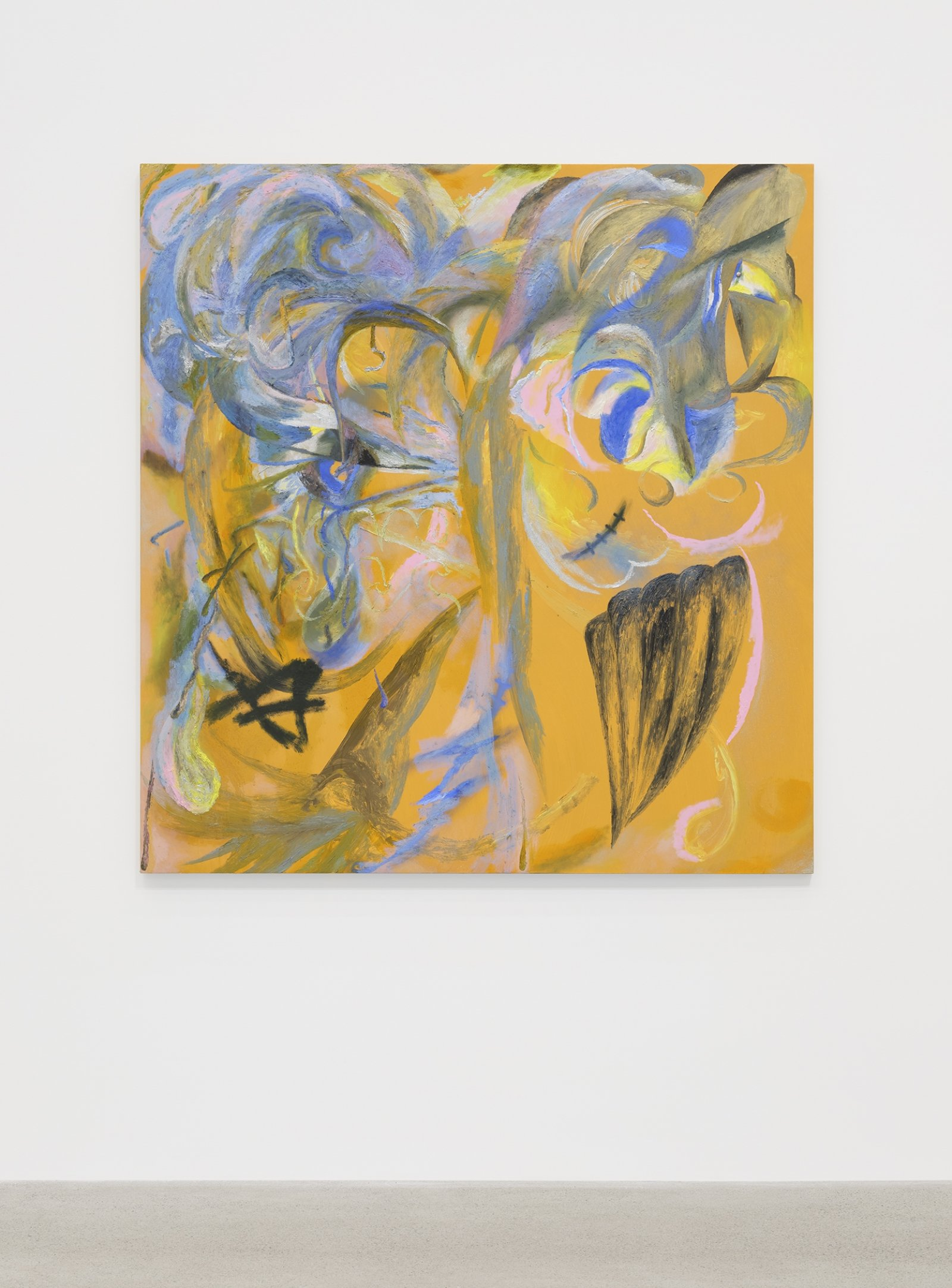 Rebecca Brewer, Twice Exceptional, 2019, oil on wood panel, 60 x 57 in. (152 x 145 cm)