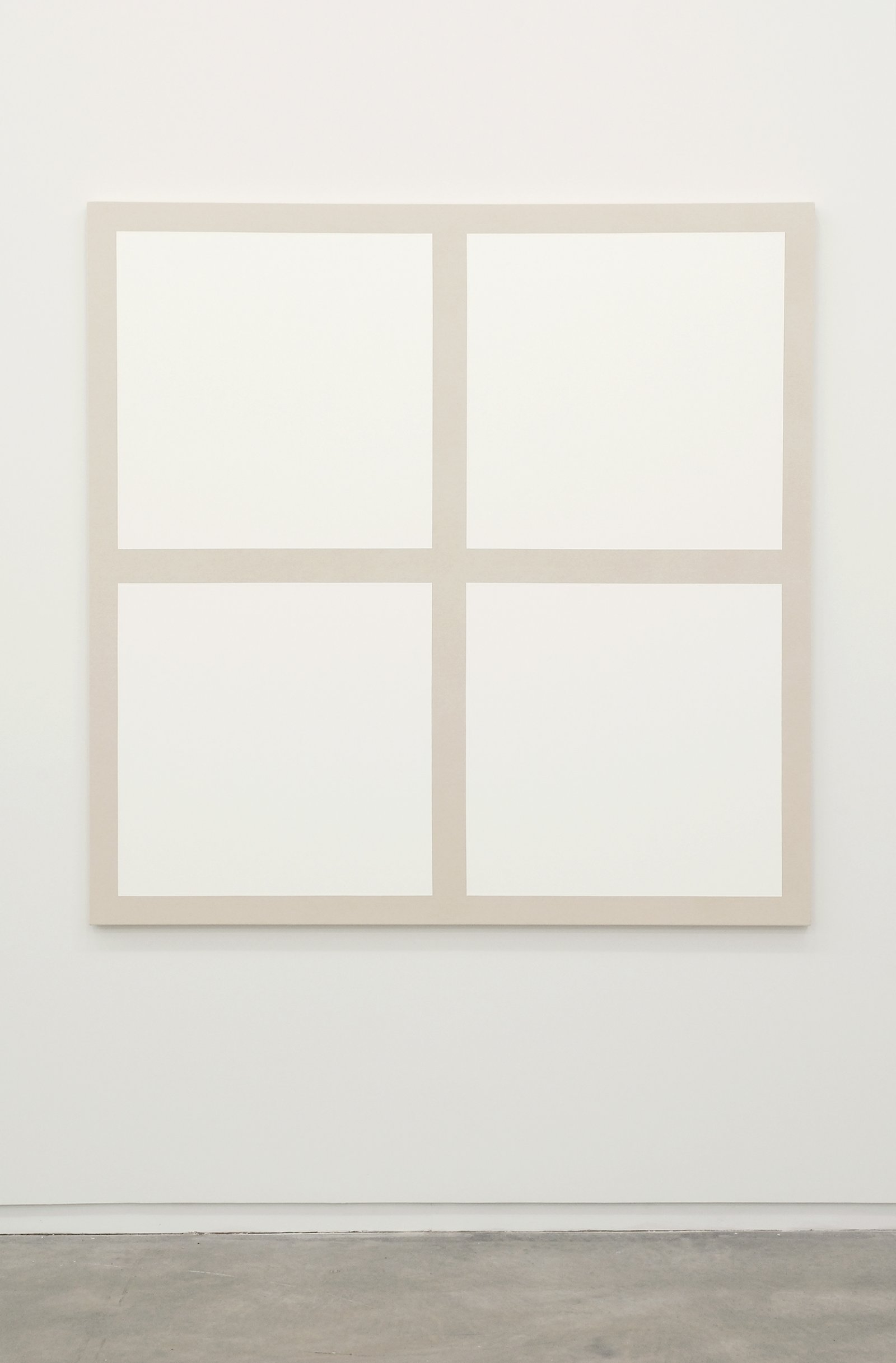 Arabella Campbell, Physical Facts Series #7, 2007, acrylic on canvas, 60 x 60 in. (64 x 64 cm) by