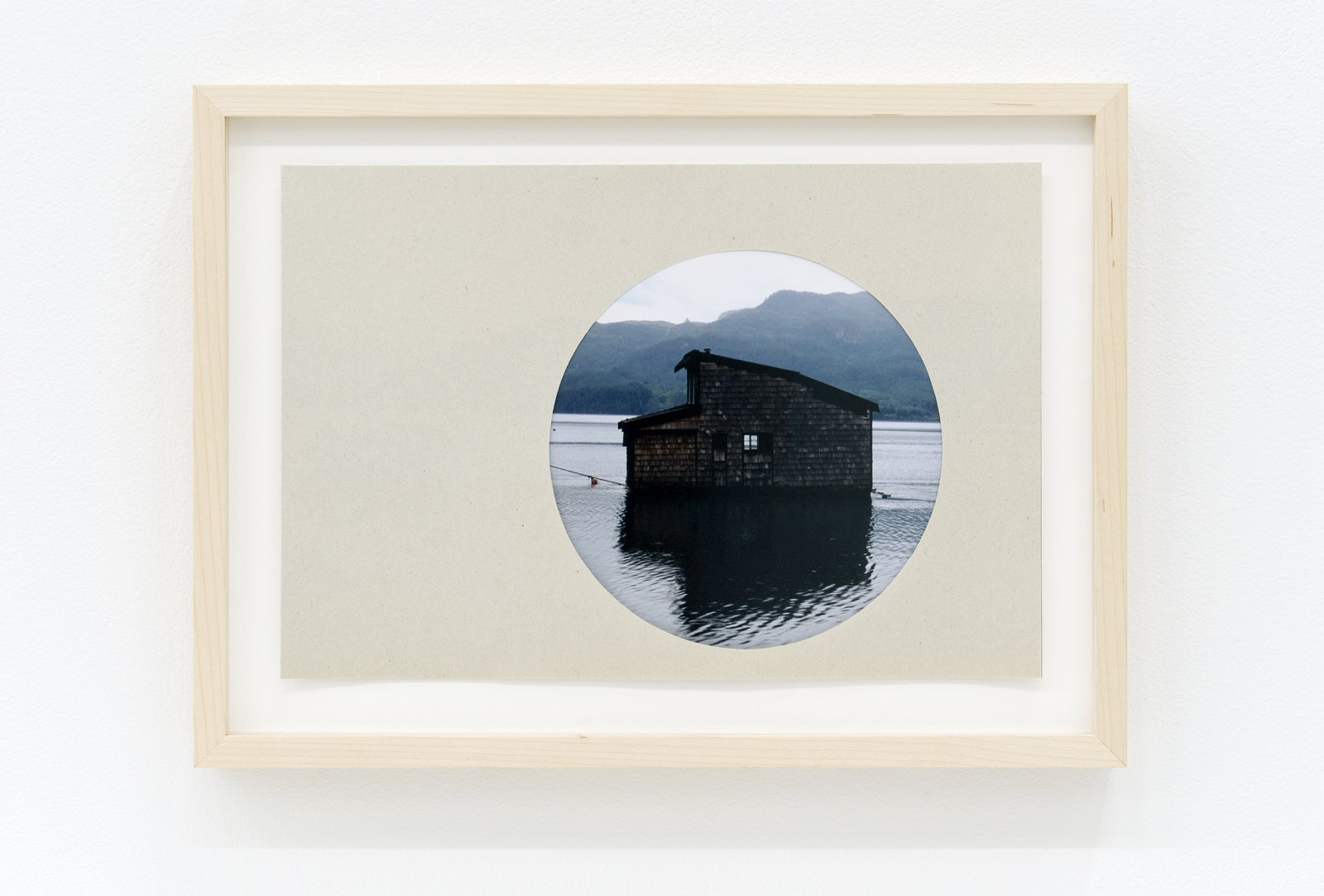 ​Arabella Campbell, The window framed by a wall, 2011, lightjet print, newsprint. 11 x 15 in. (27 x 37 cm) by