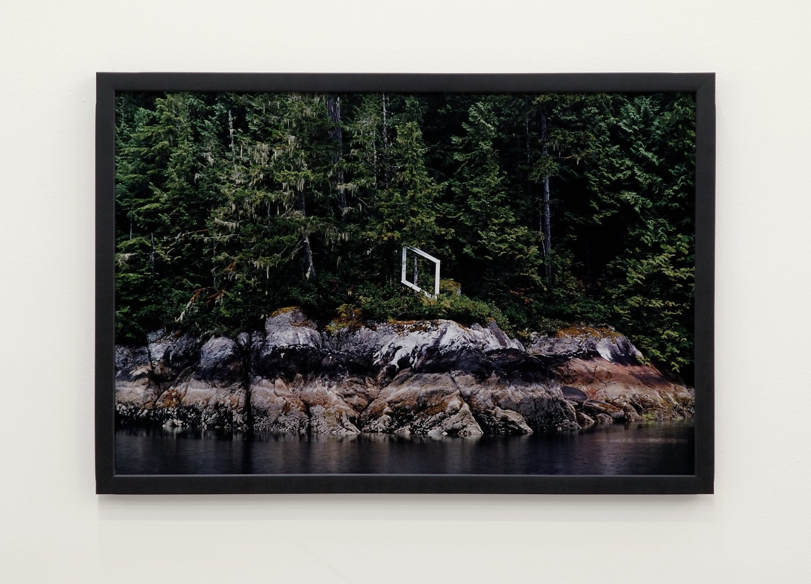 ​​Arabella Campbell, Untitled (Fishing Boundary Square), 2007, c-print, 17 x 25 in. (43 x 64 cm)​ by