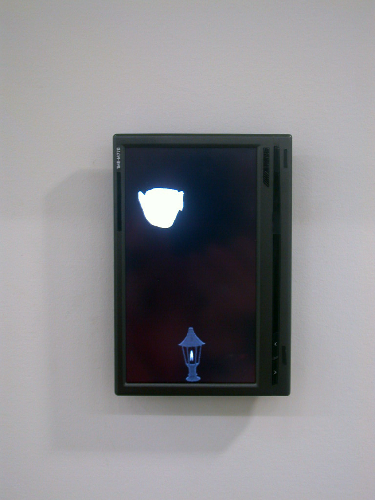 ​Geoffrey Farmer, As far away from the flame as humanly possible, 2006, looped DVD, dimensions variable by