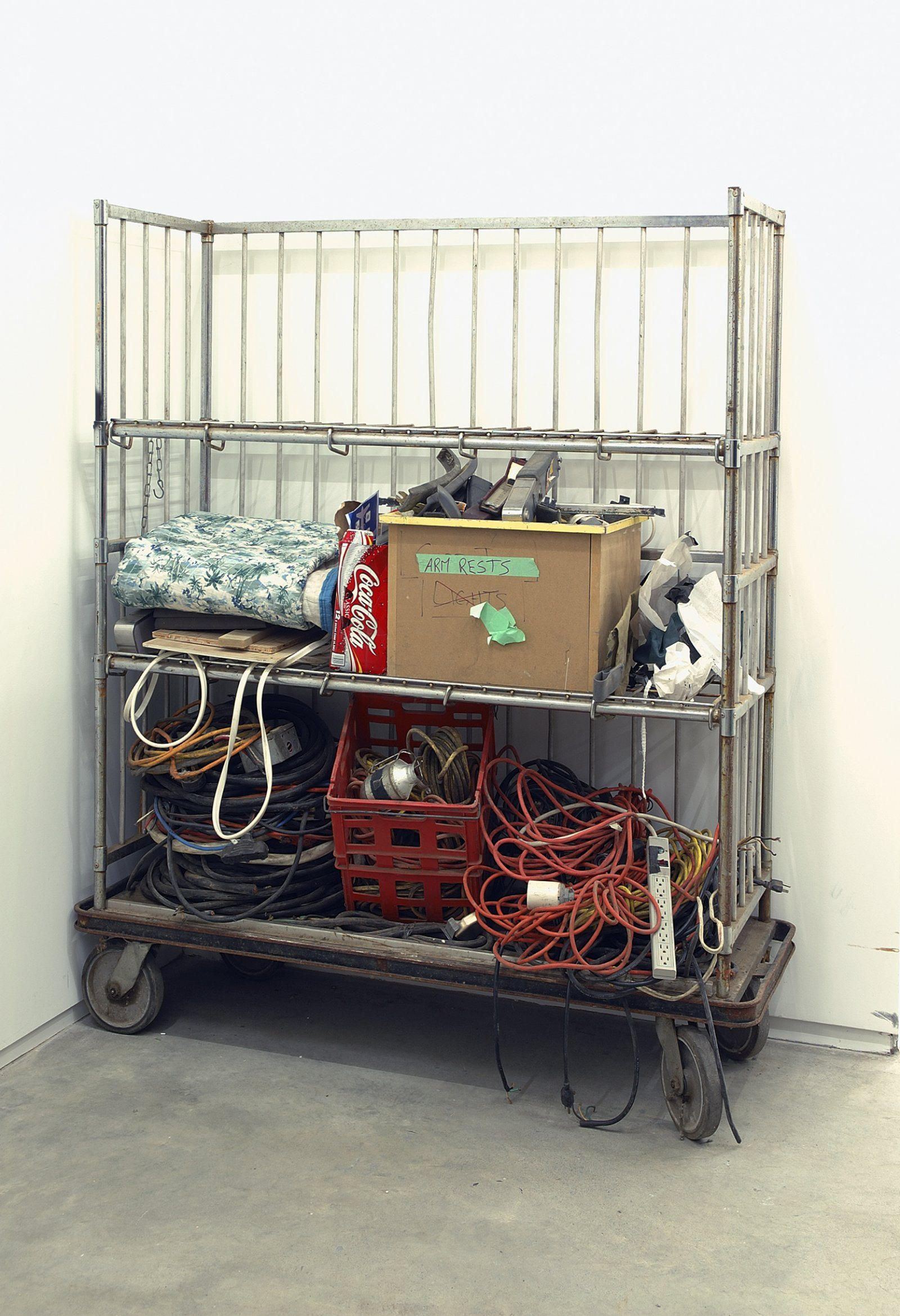 Geoffrey Farmer,Airliner Open Studio (installation), 2006, variable components and dimensions