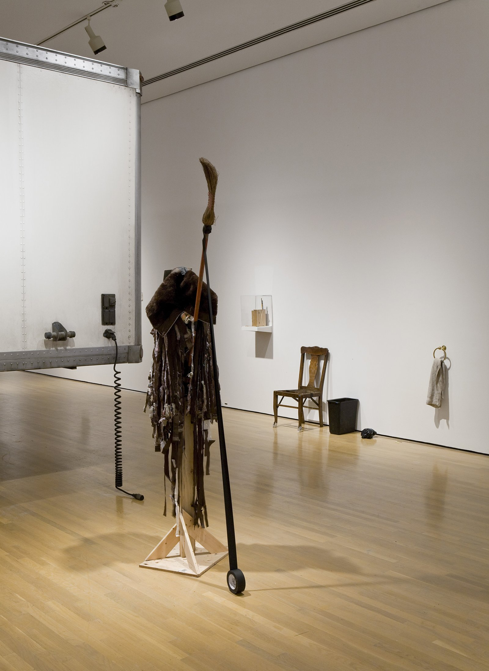 Geoffrey Farmer, I am by nature one and also many, dividing the single me into many, and even opposing them as great and small, light and dark, and in ten thousand other ways, 2006–2008, mixed media, dimensions variable by Geoffrey Farmer