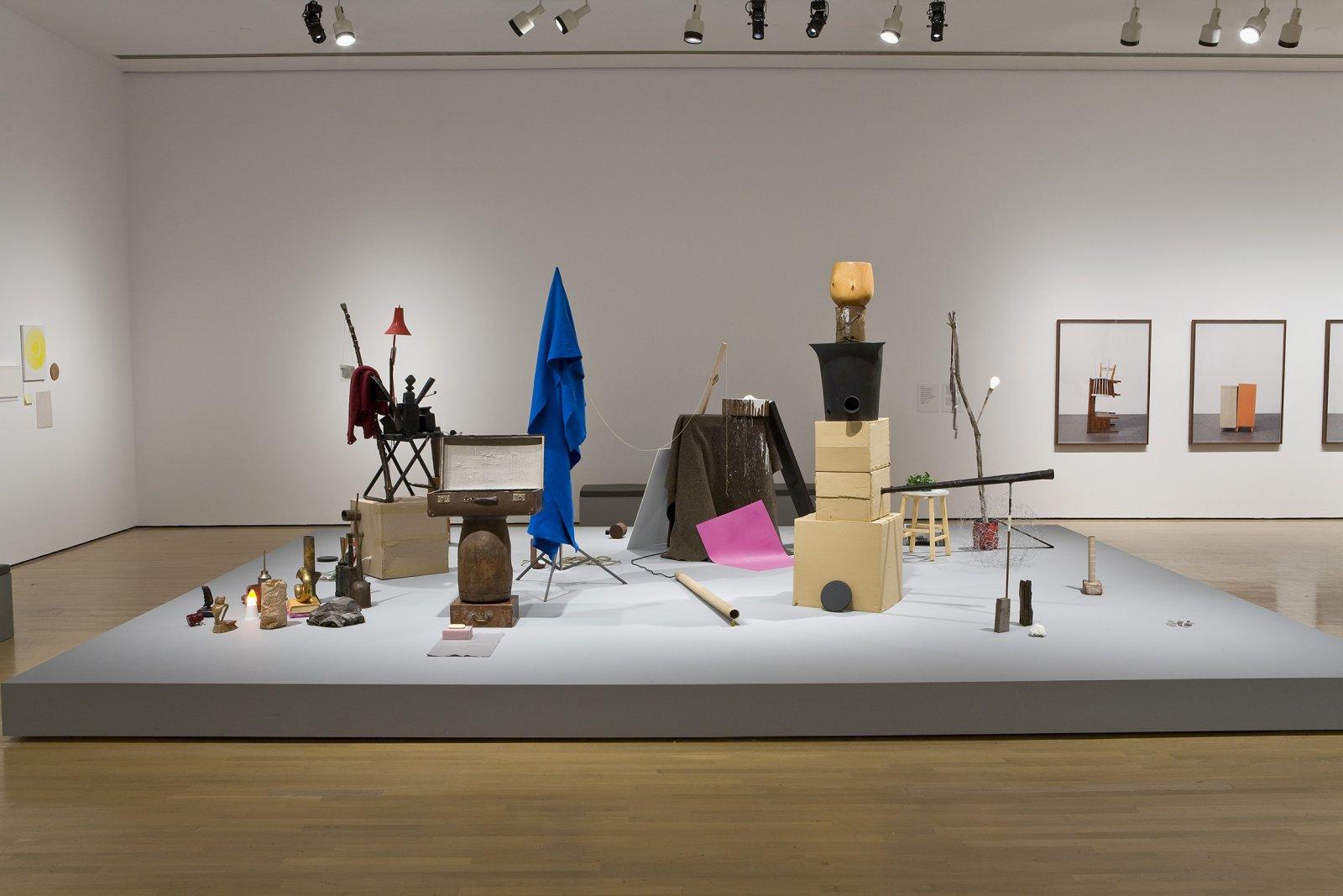 Geoffrey Farmer, installation view, Musée d'art contemporain de Montréal, 2008 by Geoffrey Farmer