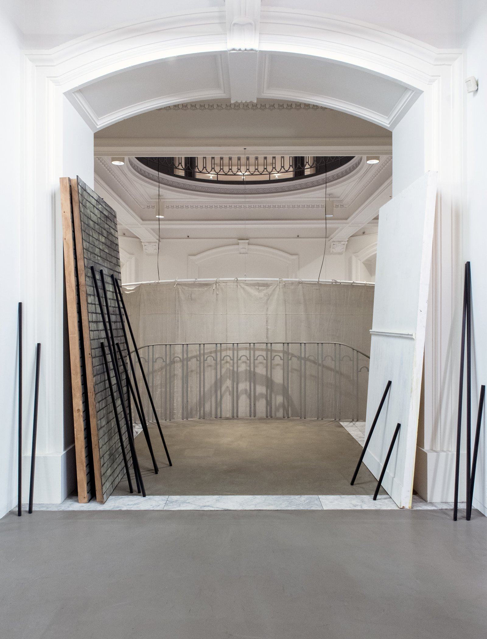 Geoffrey Farmer, installation view, How Do I Fit This Ghost in My Mouth?, Vancouver Art Gallery, 2015 by Geoffrey Farmer