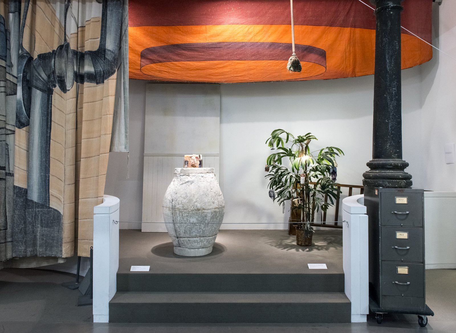 Farmer Storeroom Overture 2015 How Do I Fit This Ghost In My Mouth Vag 2015 Install 10 by Geoffrey Farmer