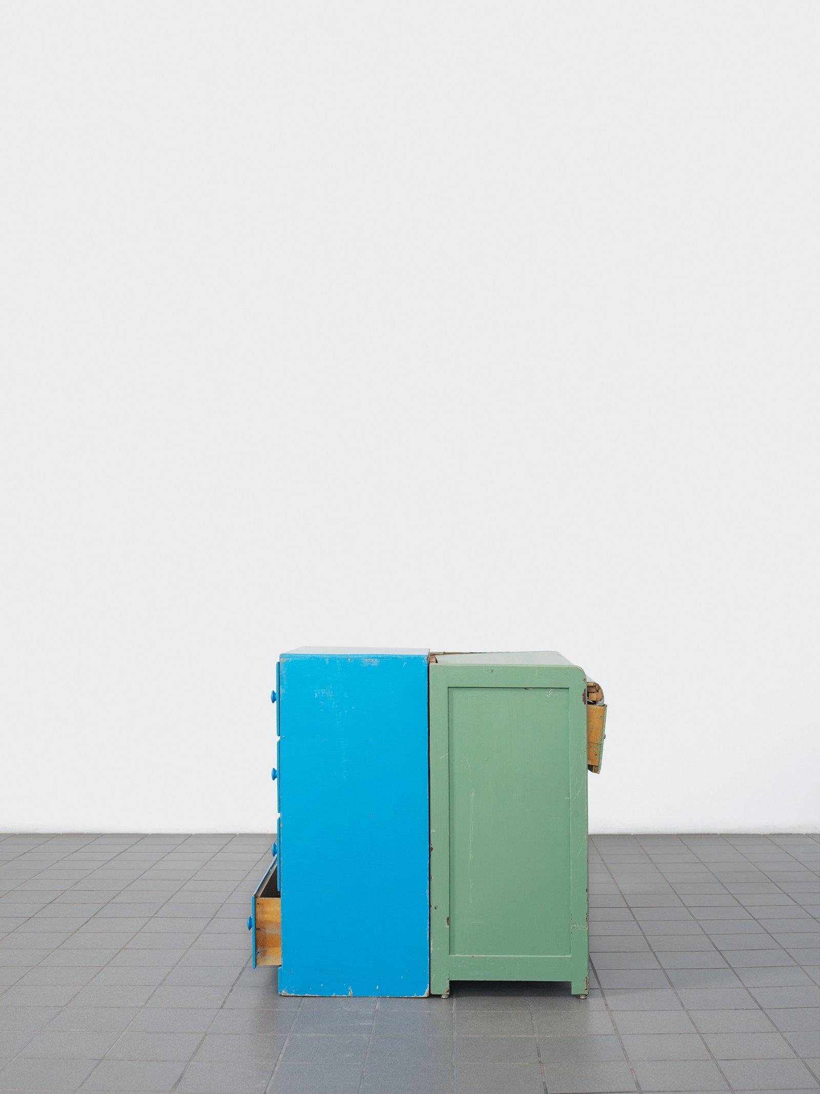 Geoffrey Farmer, Two Cavities (Pale Fire Freedom Machine), 2005, lightjet (endura archival photo paper), 50 x 38 in. (126 x 97 cm)