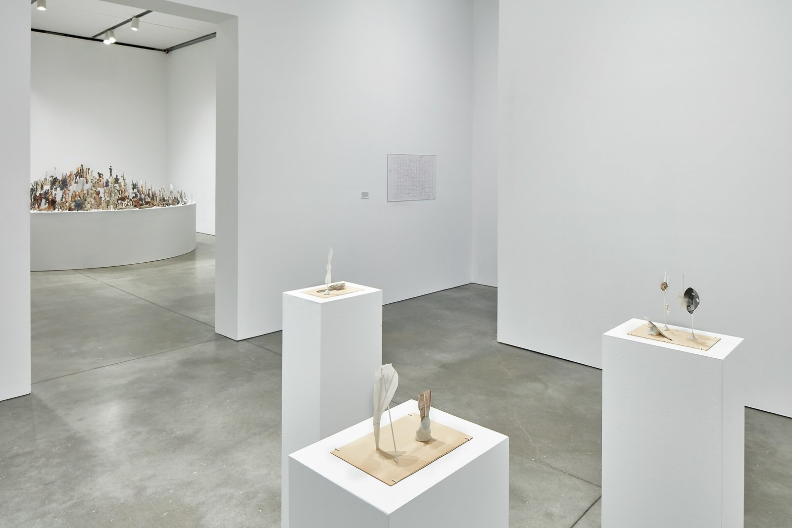 ​Geoffrey Farmer, installation view, Institute of Contemporary Art, Boston, 2016 by Geoffrey Farmer