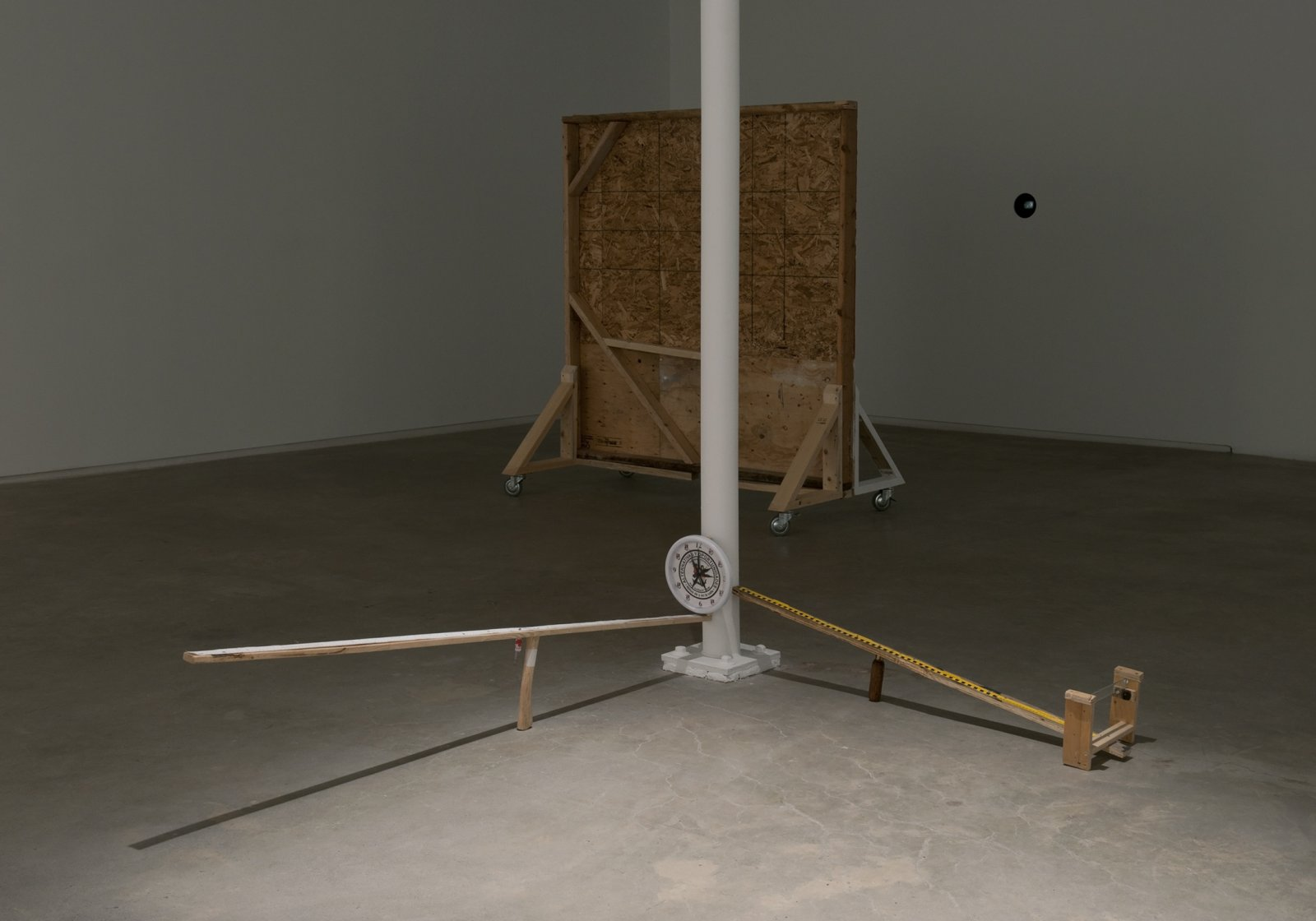 Julia Feyrer, installation view, Alternatives and Opportunities, Catriona Jeffries, 2012 by Julia Feyrer