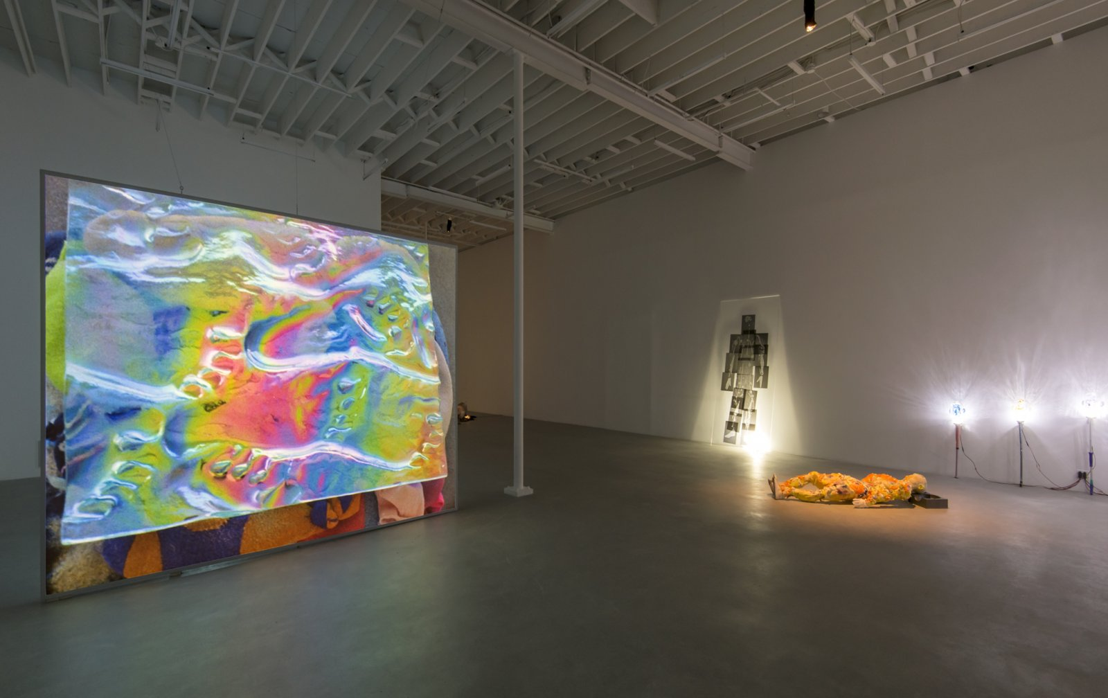 ​Julia Feyrer, installation view, Background Actors, Catriona Jeffries, Vancouver, 2018 by Julia Feyrer