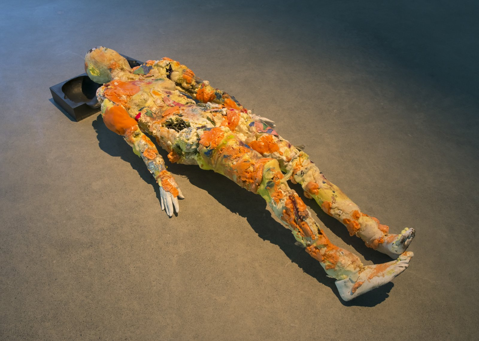 ​​Julia Feyrer, Corpse, Maiden, 2018, mixed media, 71 x 28 x 13 in. (180 x 71 x 33 cm)​ by Julia Feyrer