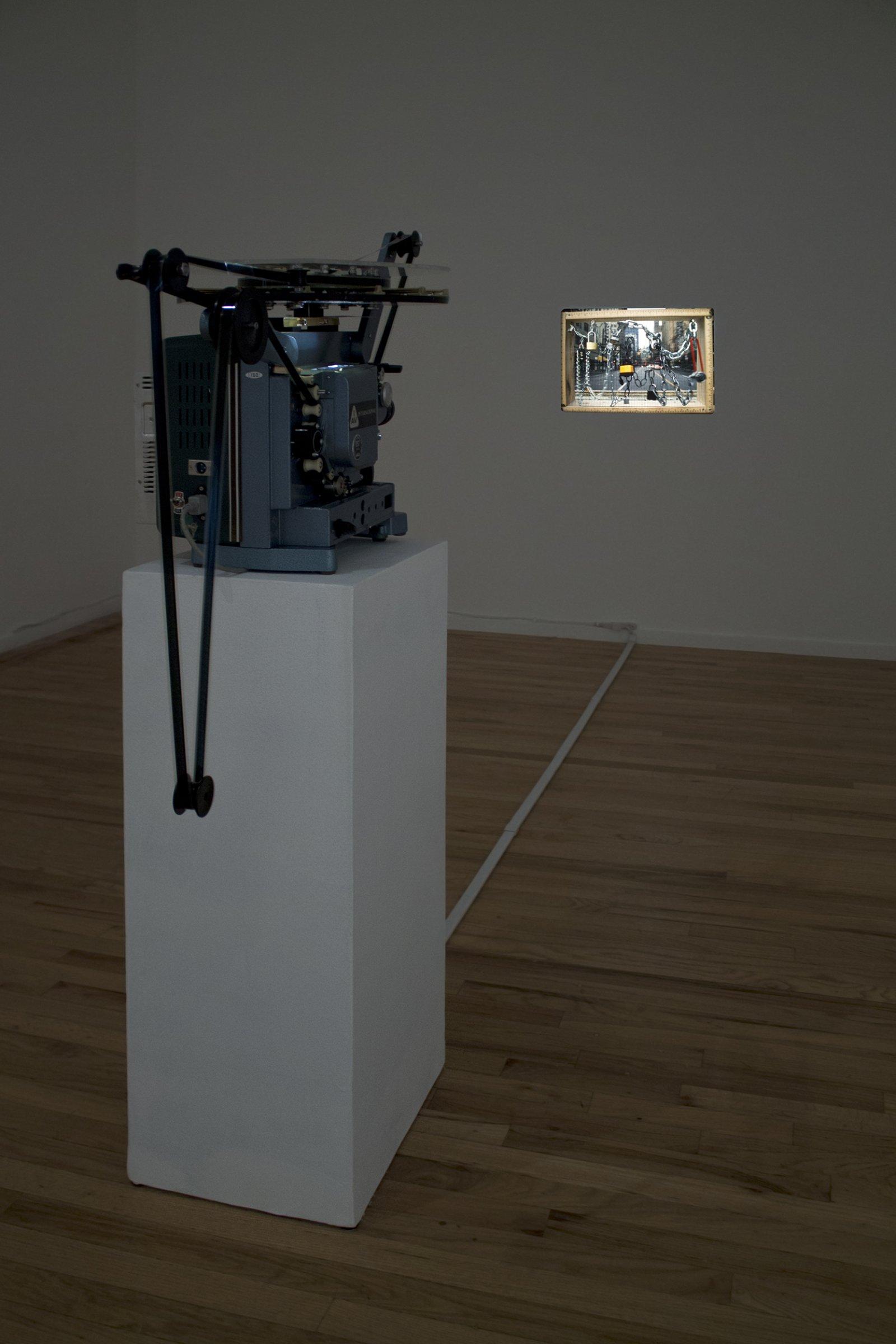 Julia Feyrer,Escape Scenes, 2014, 16mm film, silent, 4 minutes, 37 seconds, dimensions variable