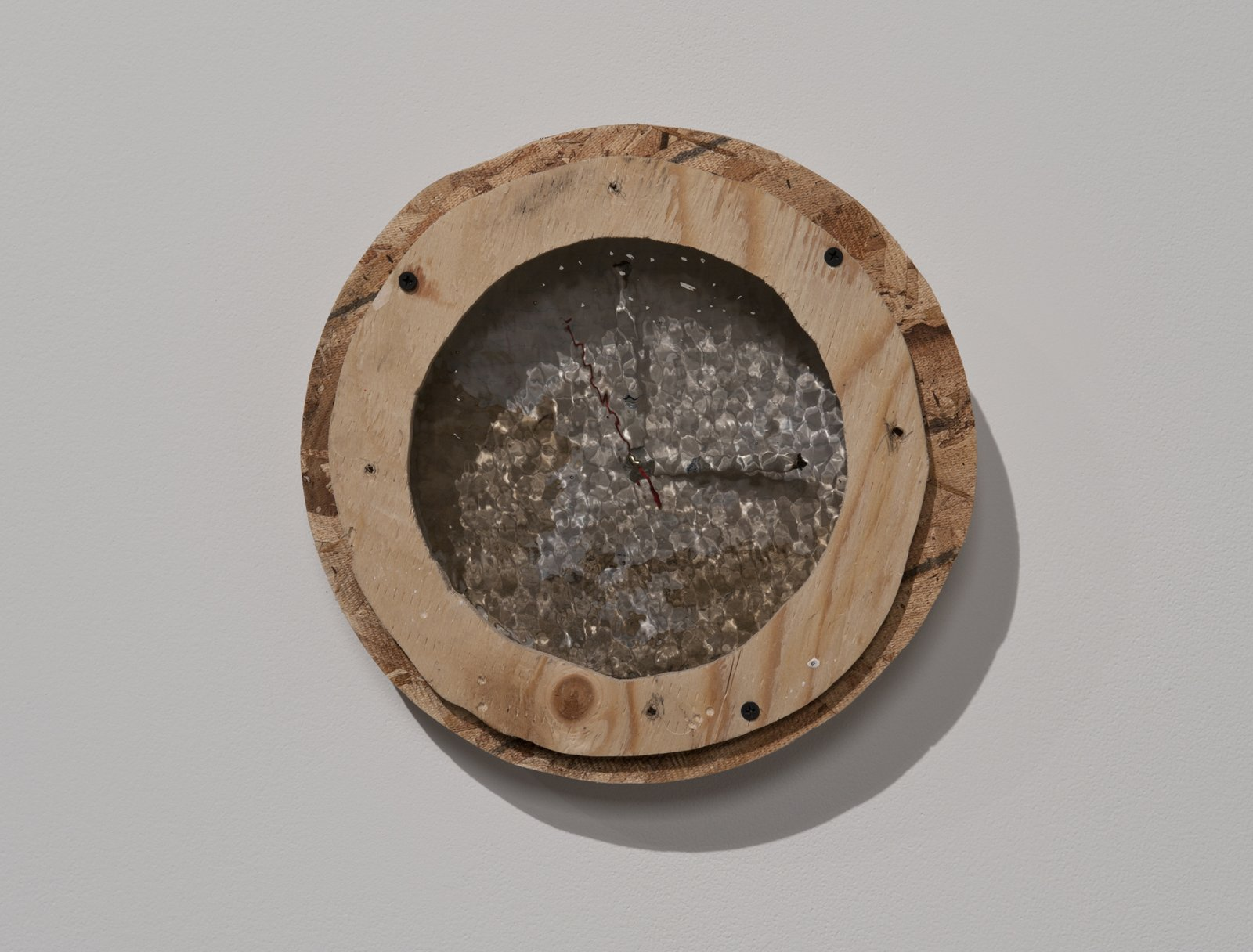 Julia Feyrer, Smoked/Muffled (Writer's Block), 2012, mixed media, 11 x 11 x 3 in. (29 x 29 x 6 cm) by Julia Feyrer